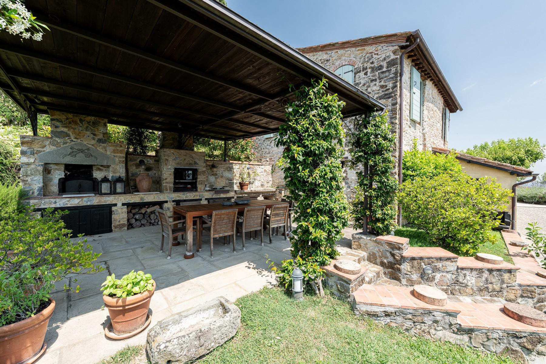 Magical farmhouse with stunning views on the hills of Lucca - 28