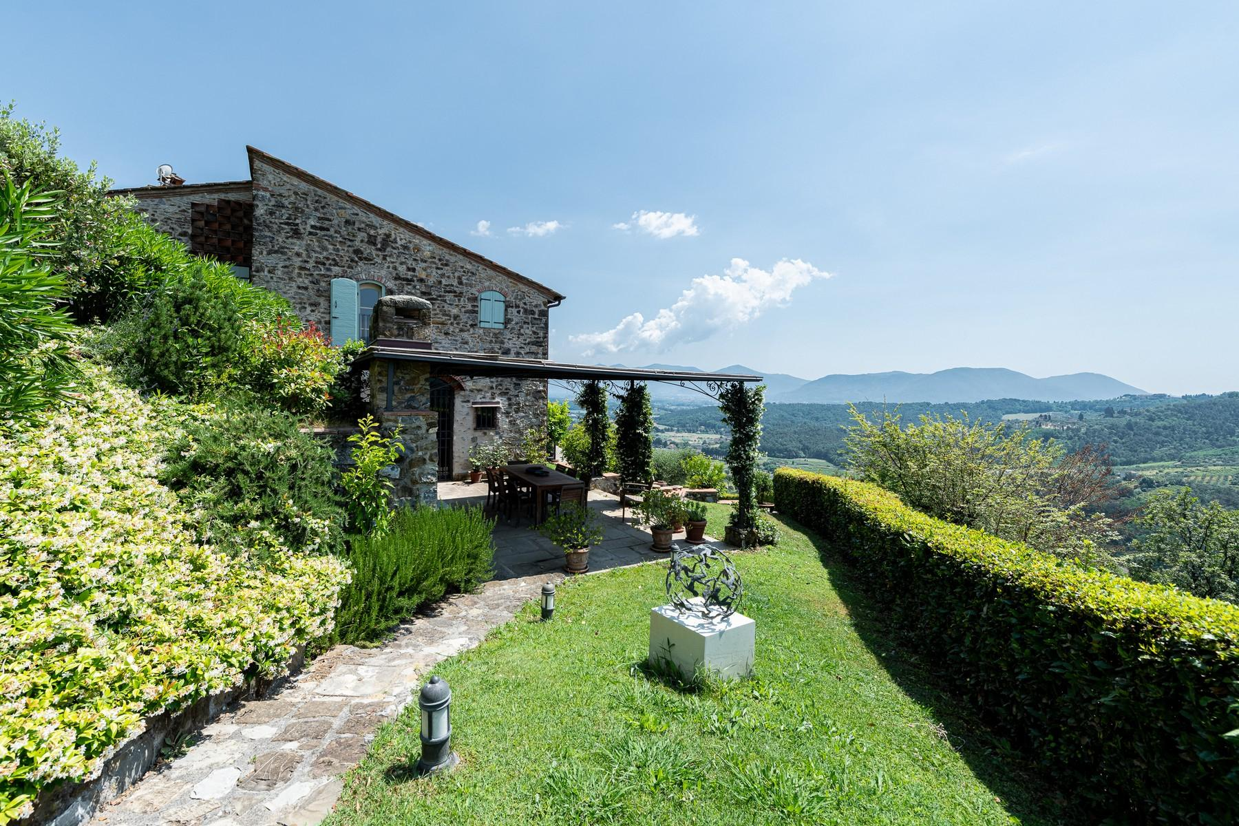 Magical farmhouse with stunning views on the hills of Lucca - 29