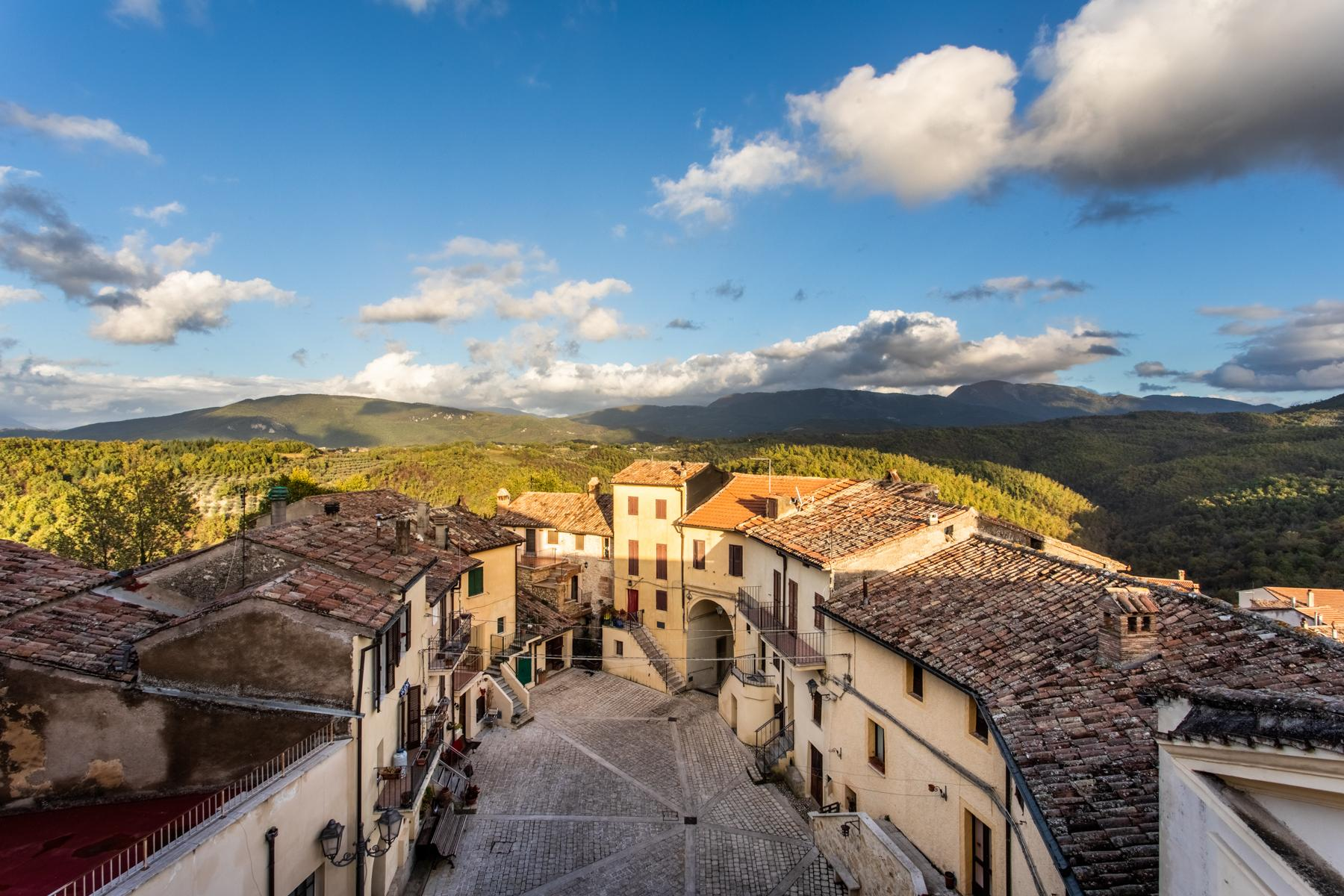中世纪村庄Oliveto山顶上的雄壮宫殿 - 20