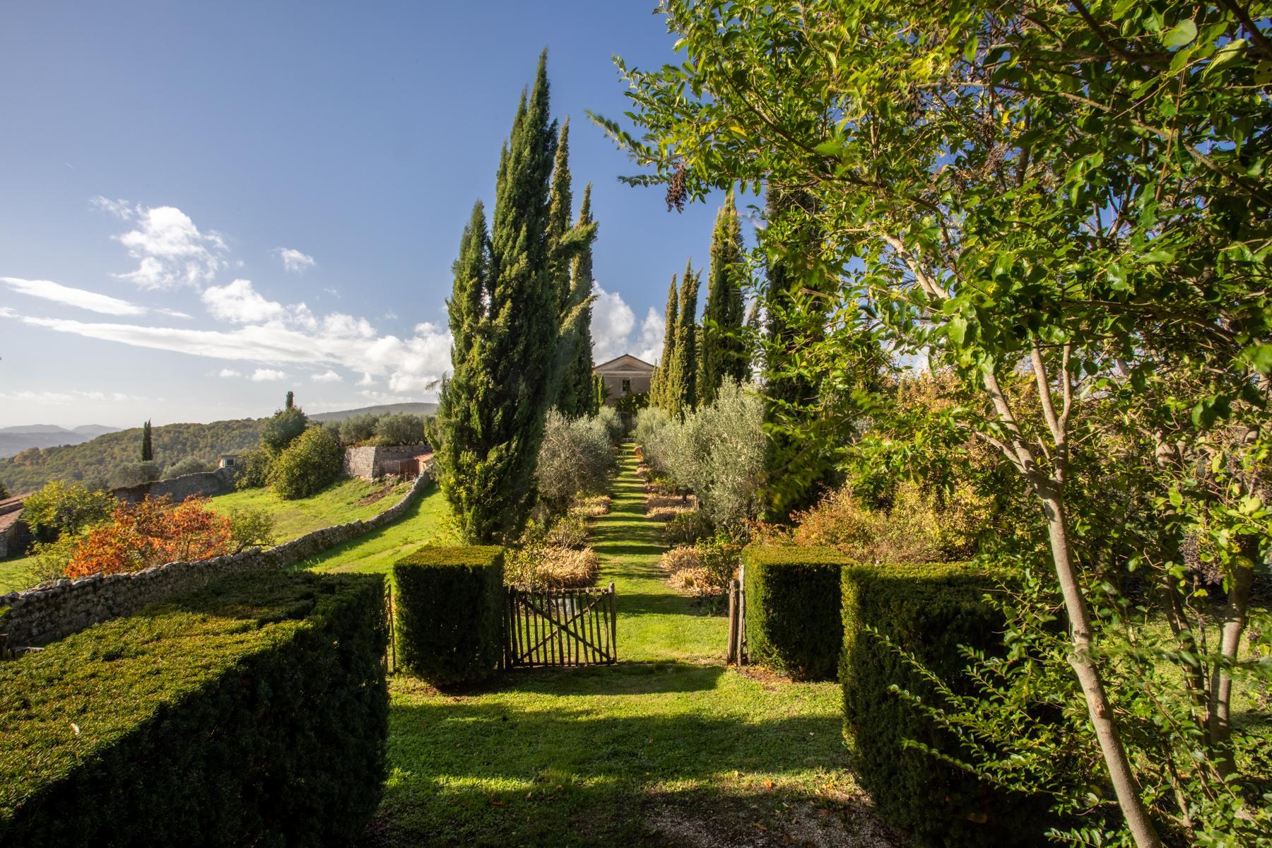中世纪村庄Oliveto山顶上的雄壮宫殿 - 25