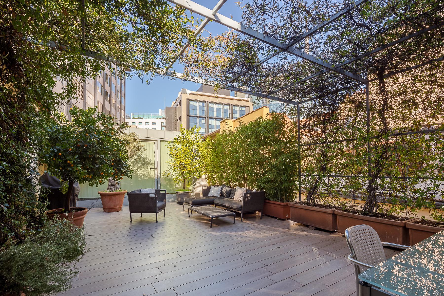 Отремонтированные светлые апартаменты с большой террасой - 14