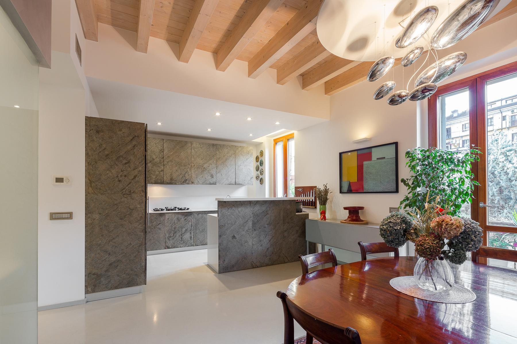 Отремонтированные светлые апартаменты с большой террасой - 19