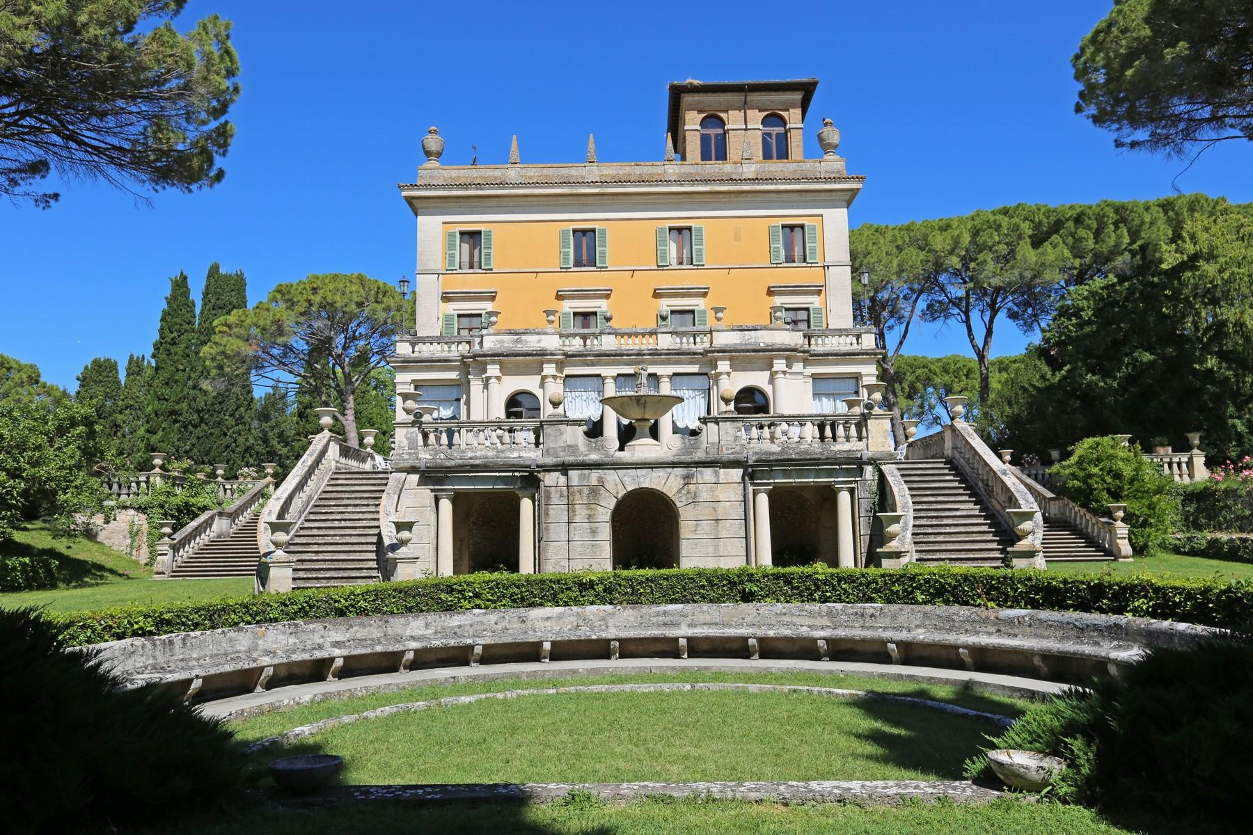 Magnificent historical villa with typical italian garden in Umbria - 20