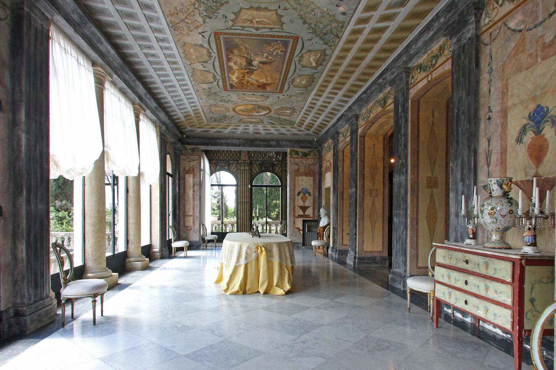 Magnificent historical villa with typical italian garden in Umbria - 8