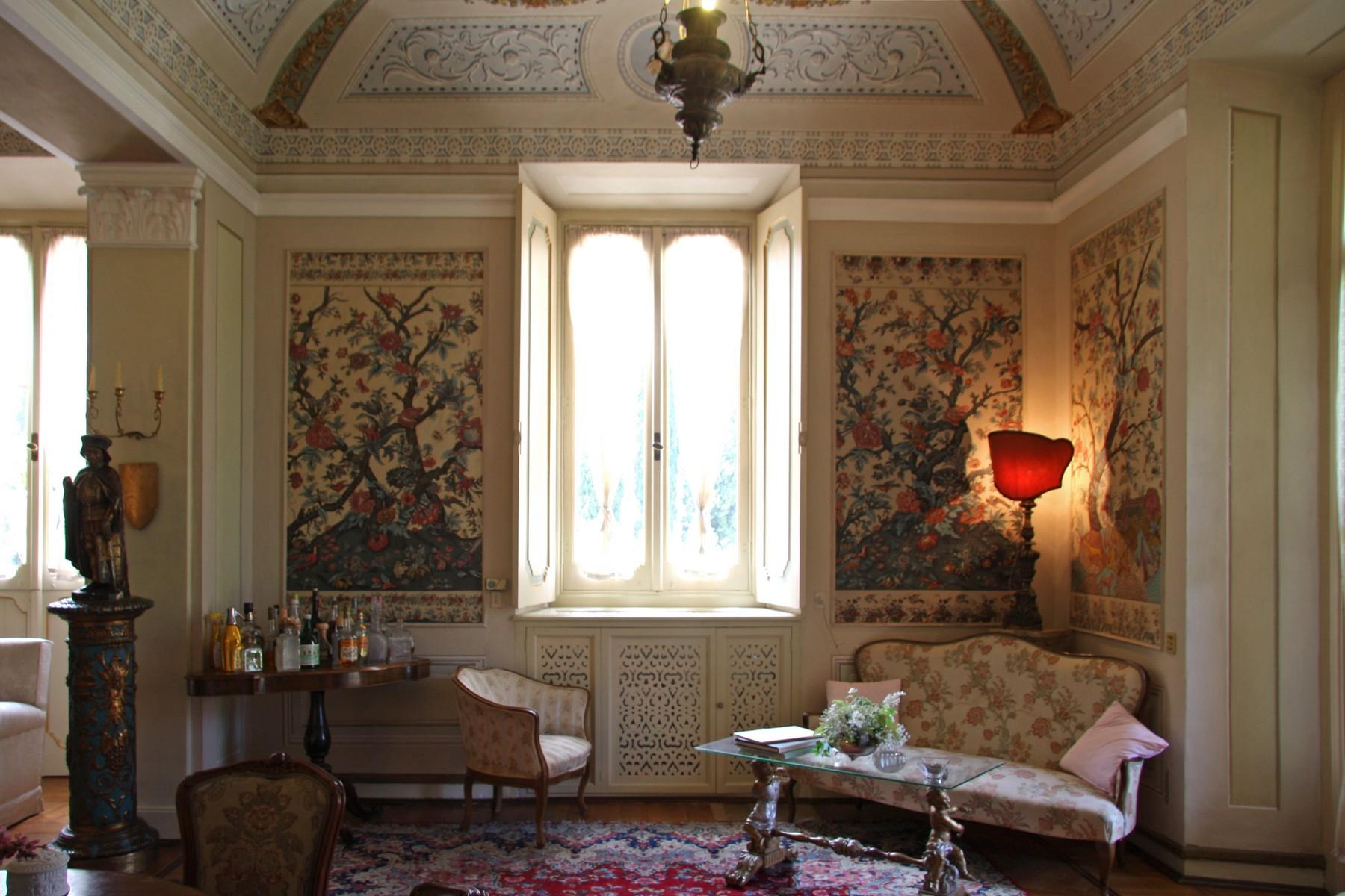 Magnificent historical villa with typical italian garden in Umbria - 31