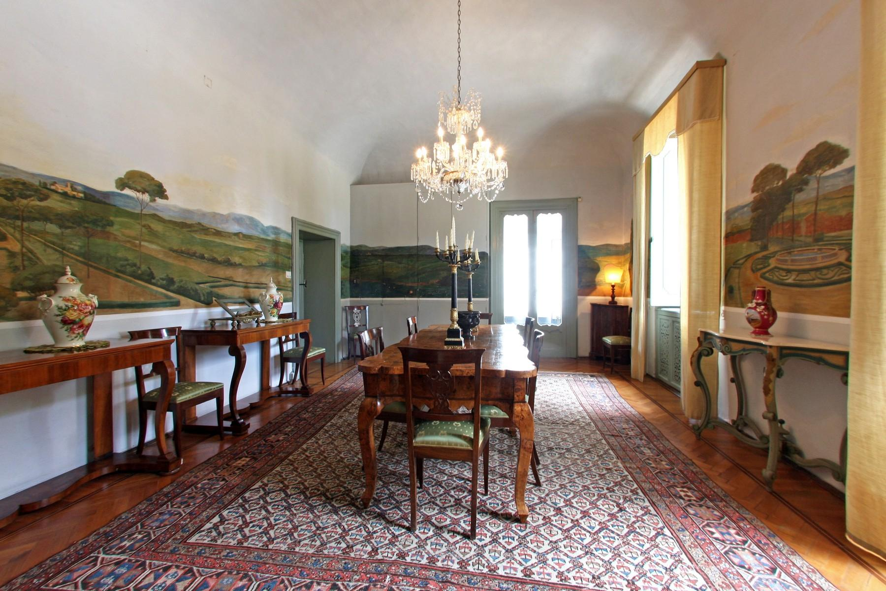 Magnificent historical villa with typical italian garden in Umbria - 32