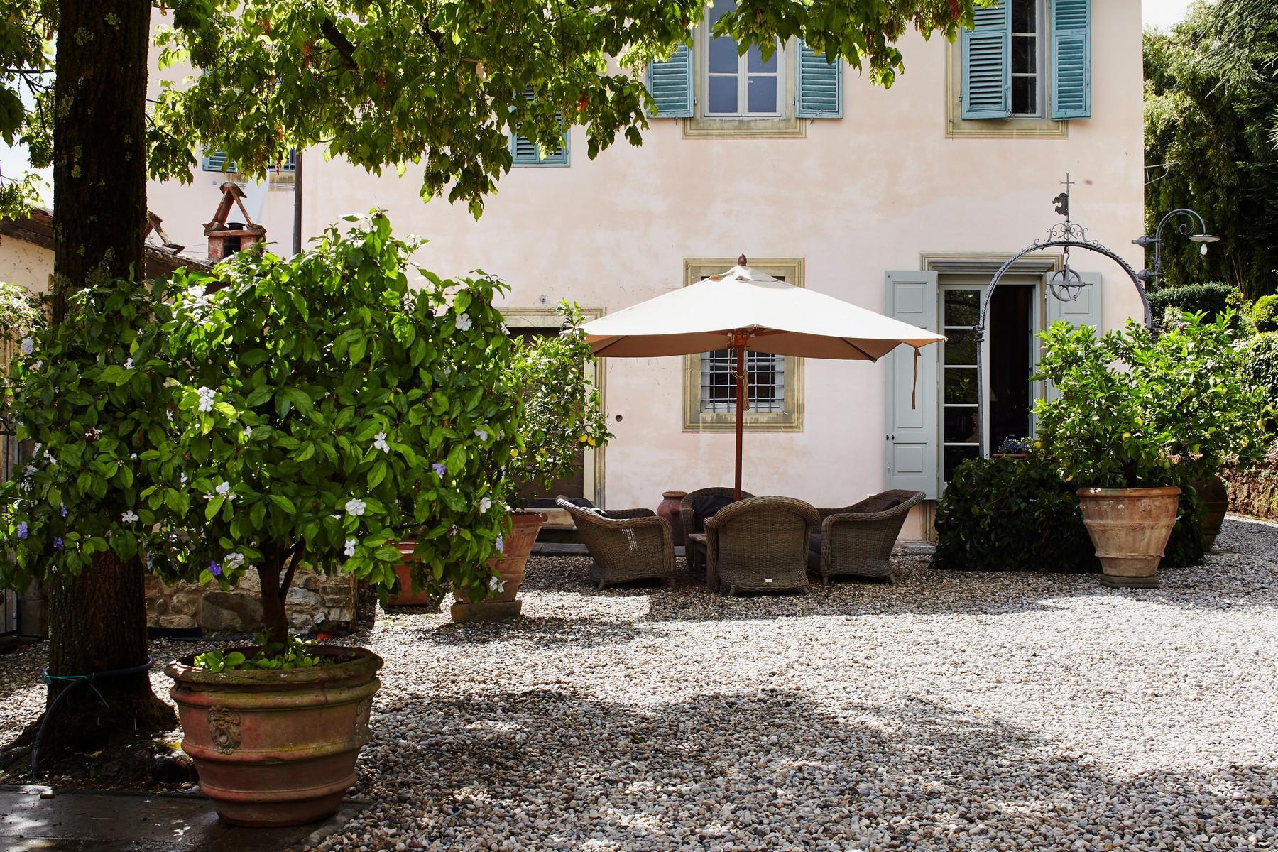 邻近Lucca的18世纪的宏伟别墅 - 24