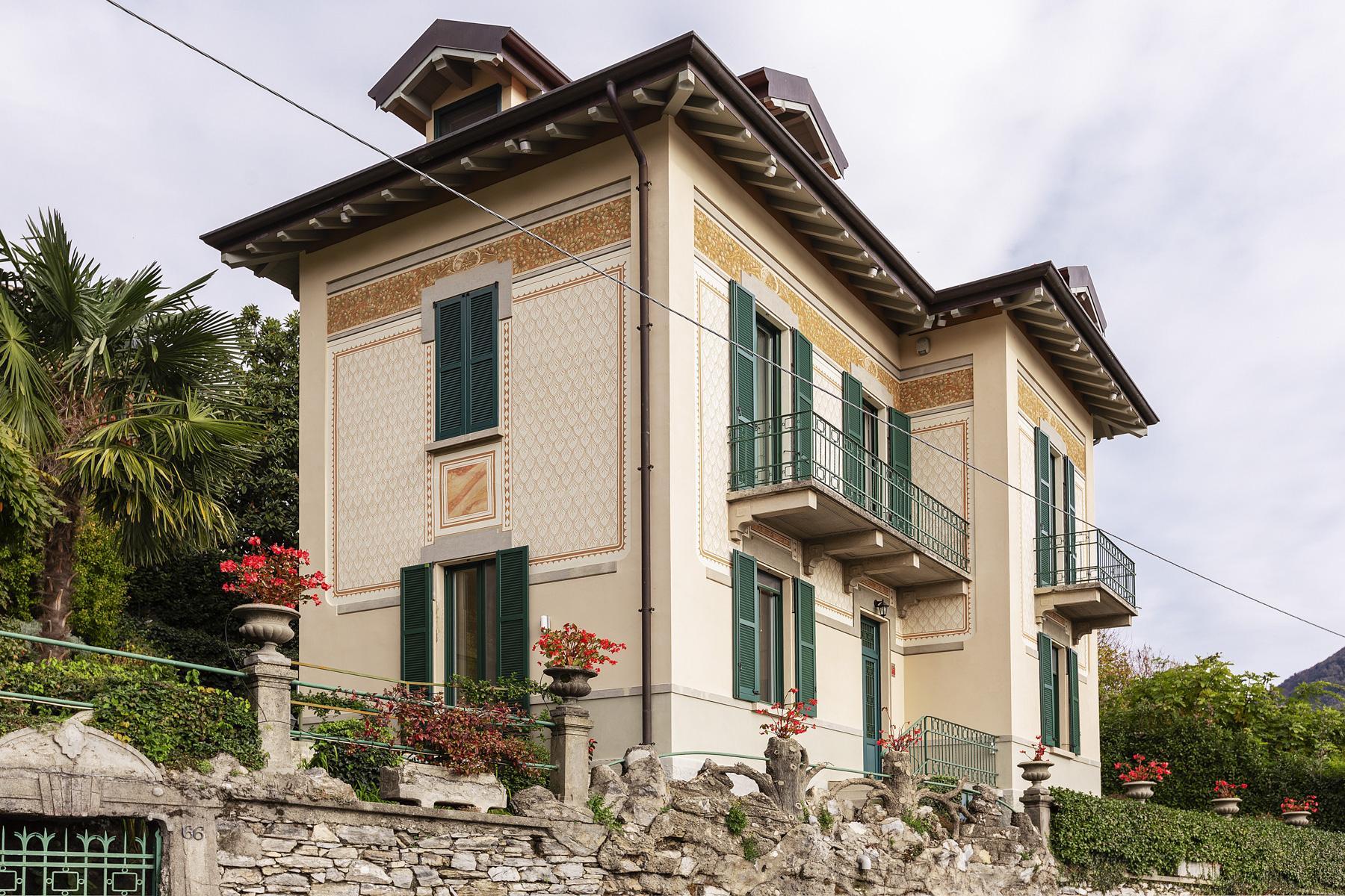 Belle villa avec une vue magnifique sur la ville et le premier bassin du lac de Côme - 3