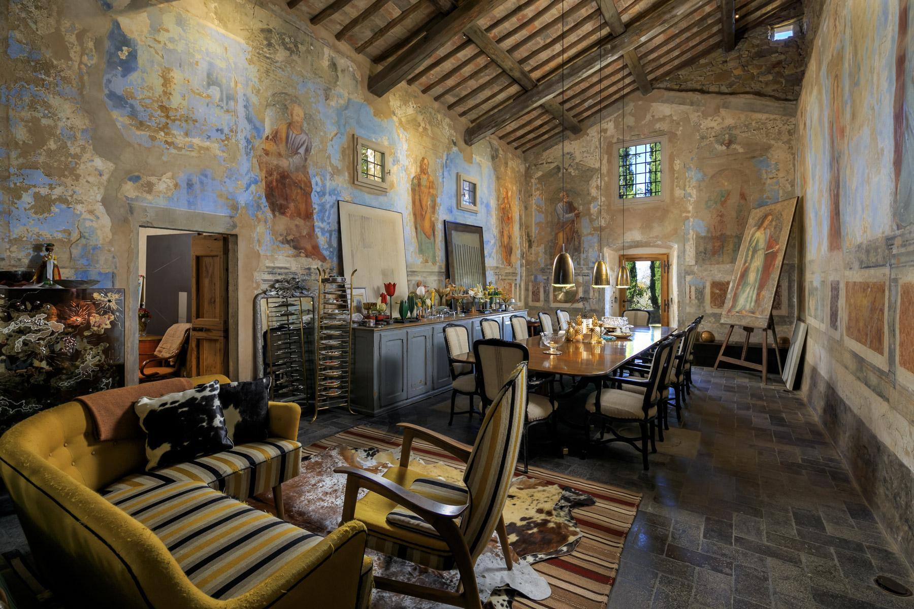 Schloss in der Nàhe von Radda in Chianti - 6