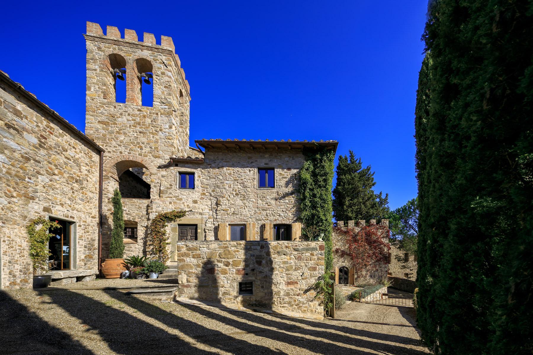 Schloss in der Nàhe von Radda in Chianti - 3