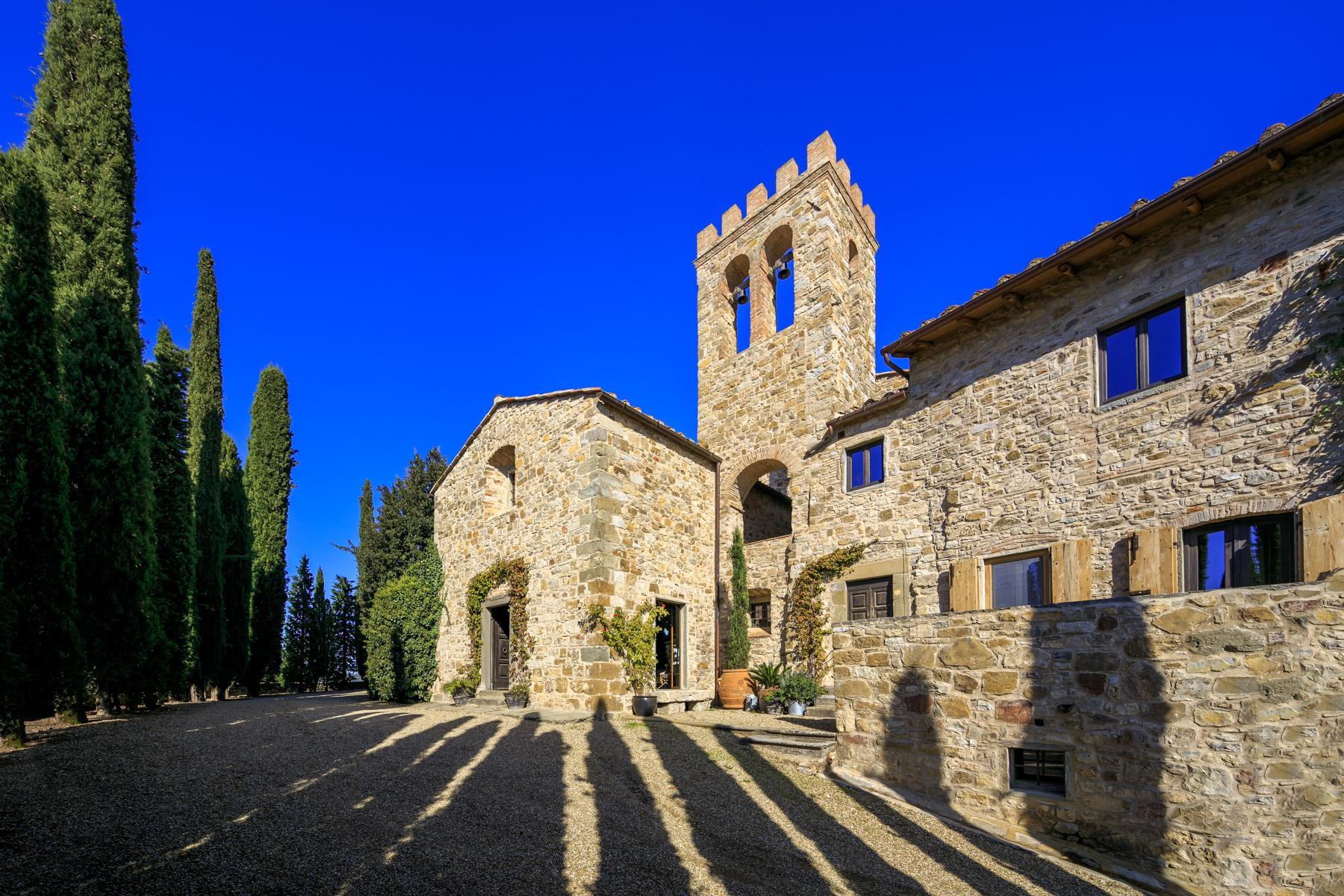 Castle/Manor house near Radda in Chianti - 4