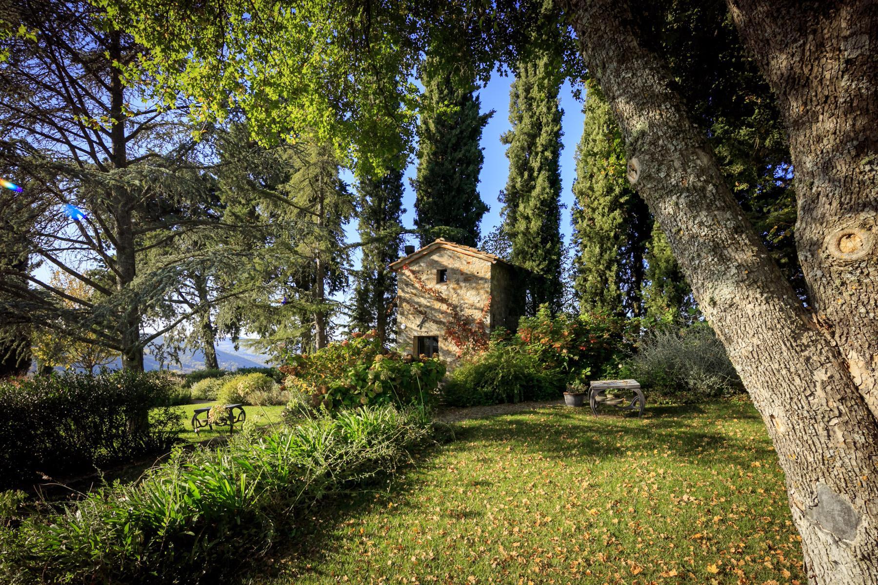 邻近RaddainChianti的城堡/庄园住宅 - 36