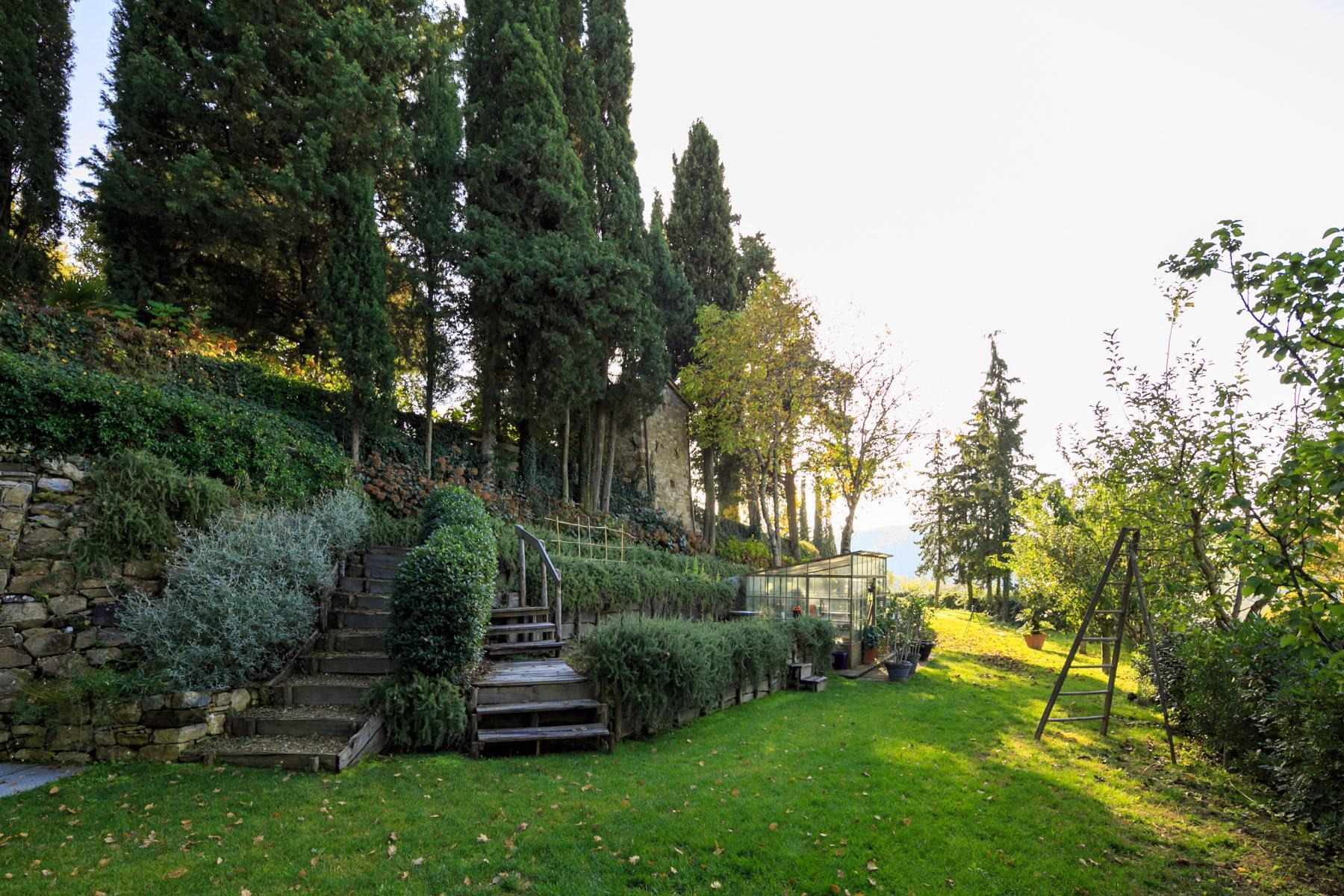 邻近RaddainChianti的城堡/庄园住宅 - 33