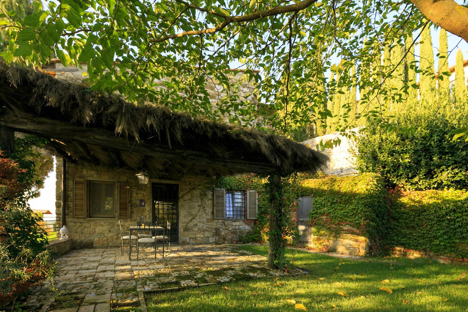 邻近RaddainChianti的城堡/庄园住宅 - 19