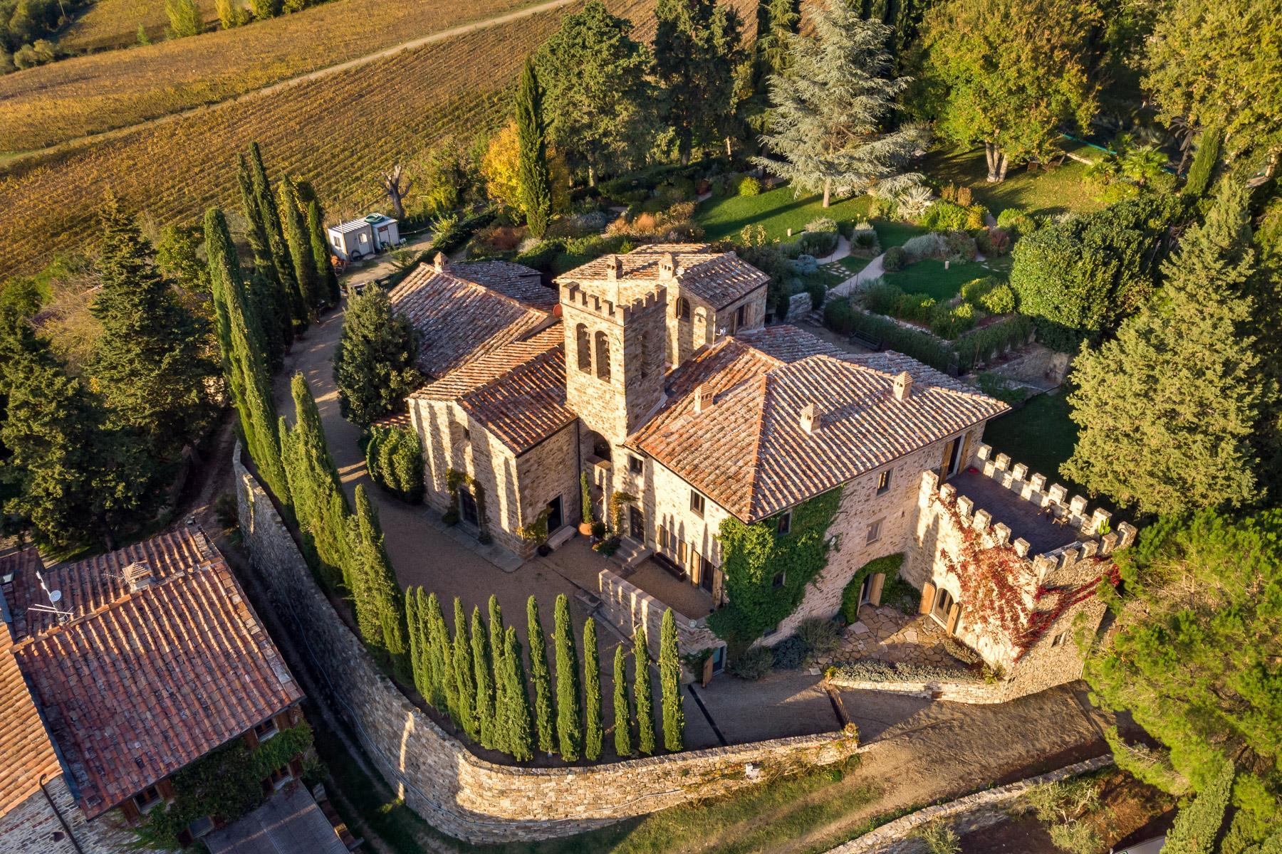 邻近RaddainChianti的城堡/庄园住宅 - 2