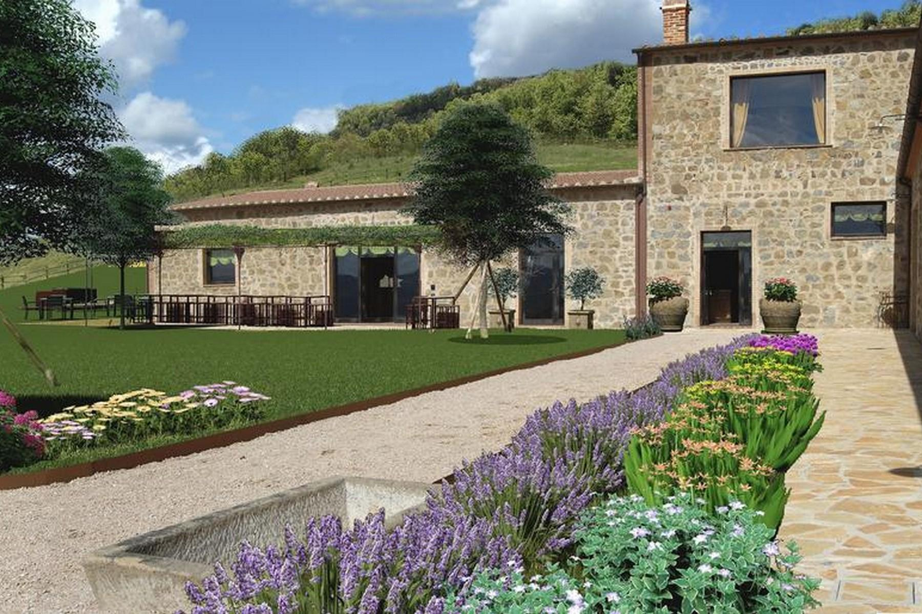 Equestrian facility/boutique hotel Val d'Orcia - 4
