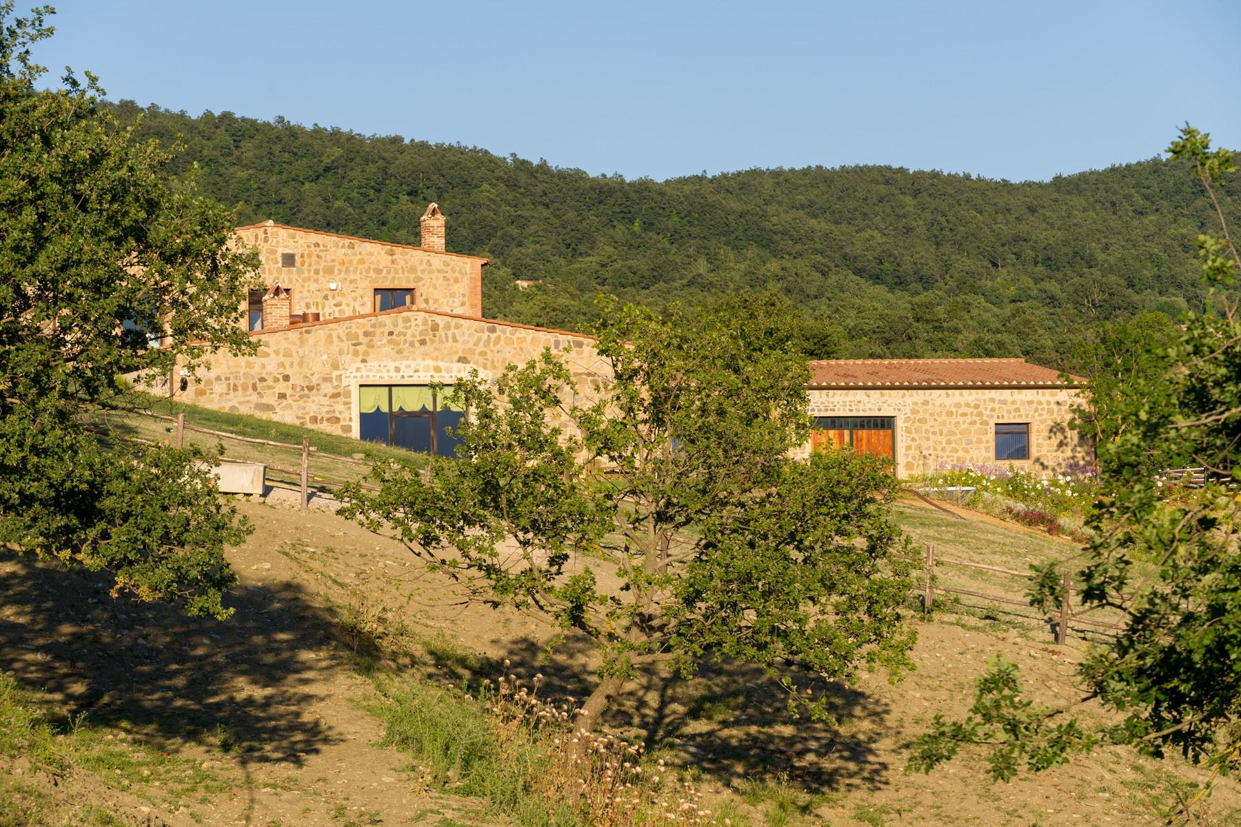 Equestrian facility/boutique hotel Val d'Orcia - 36