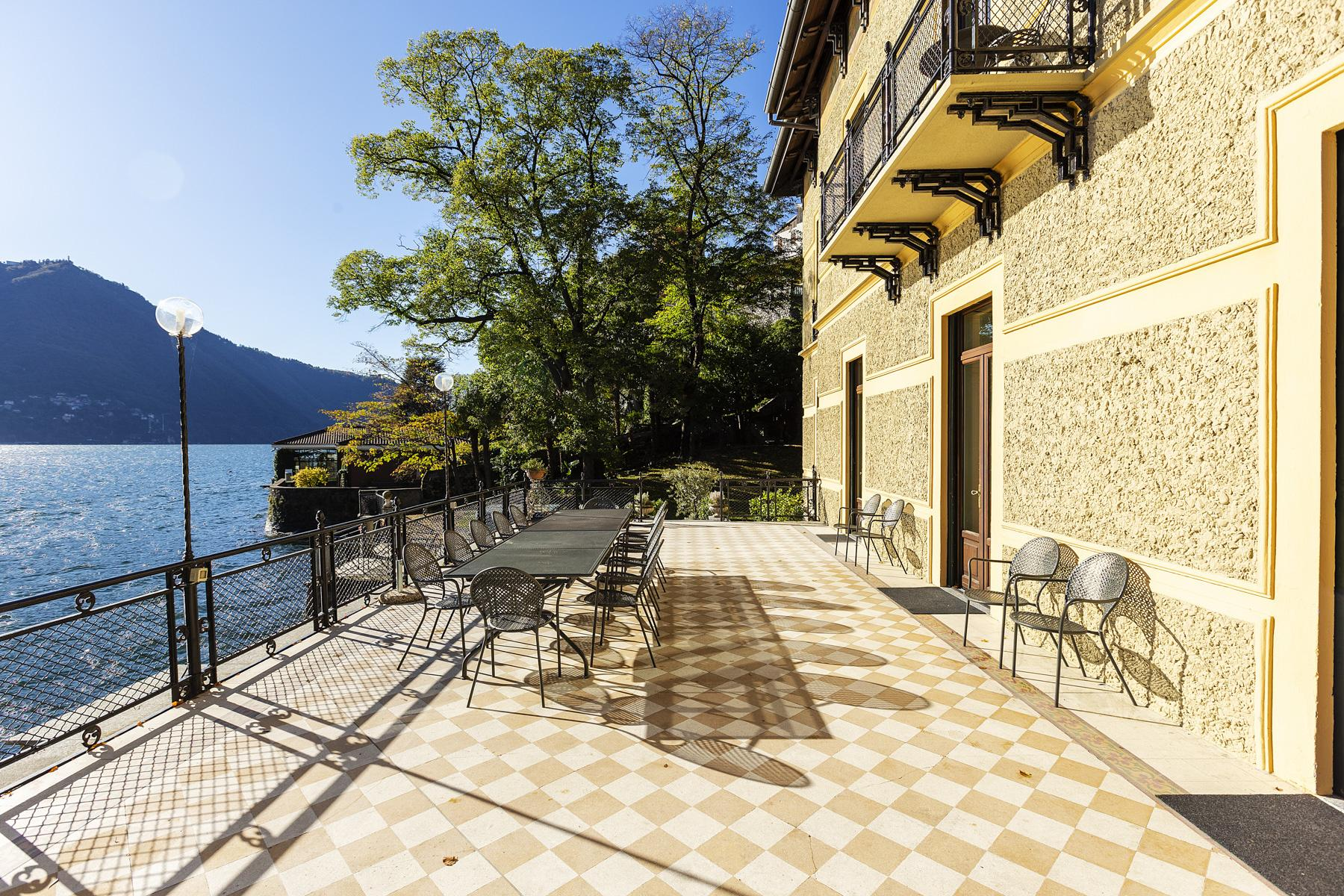 Wonderful historic villa with direct access to the lake, private wharf and boat house - 13