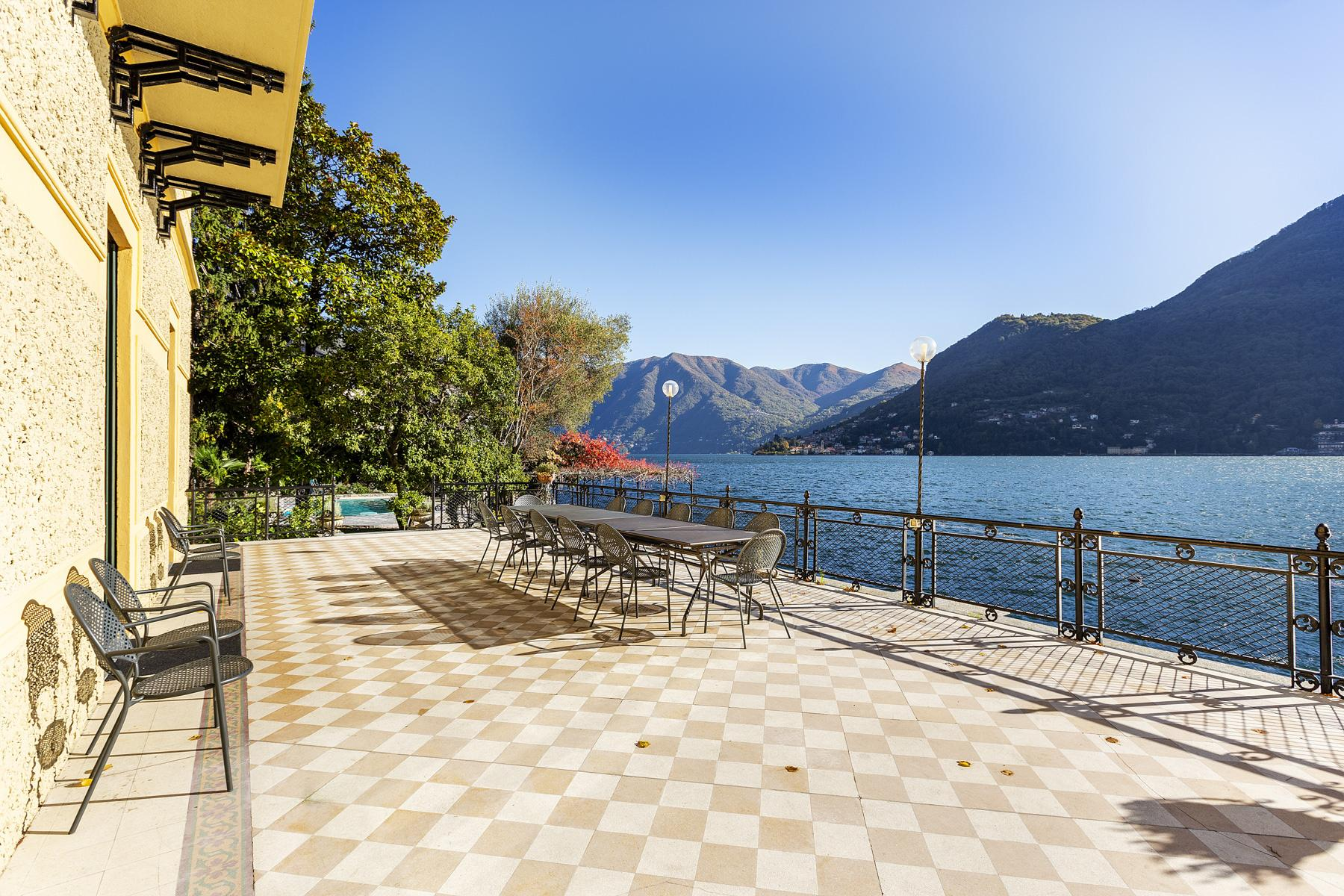 Wonderful historic villa with direct access to the lake, private wharf and boat house - 14