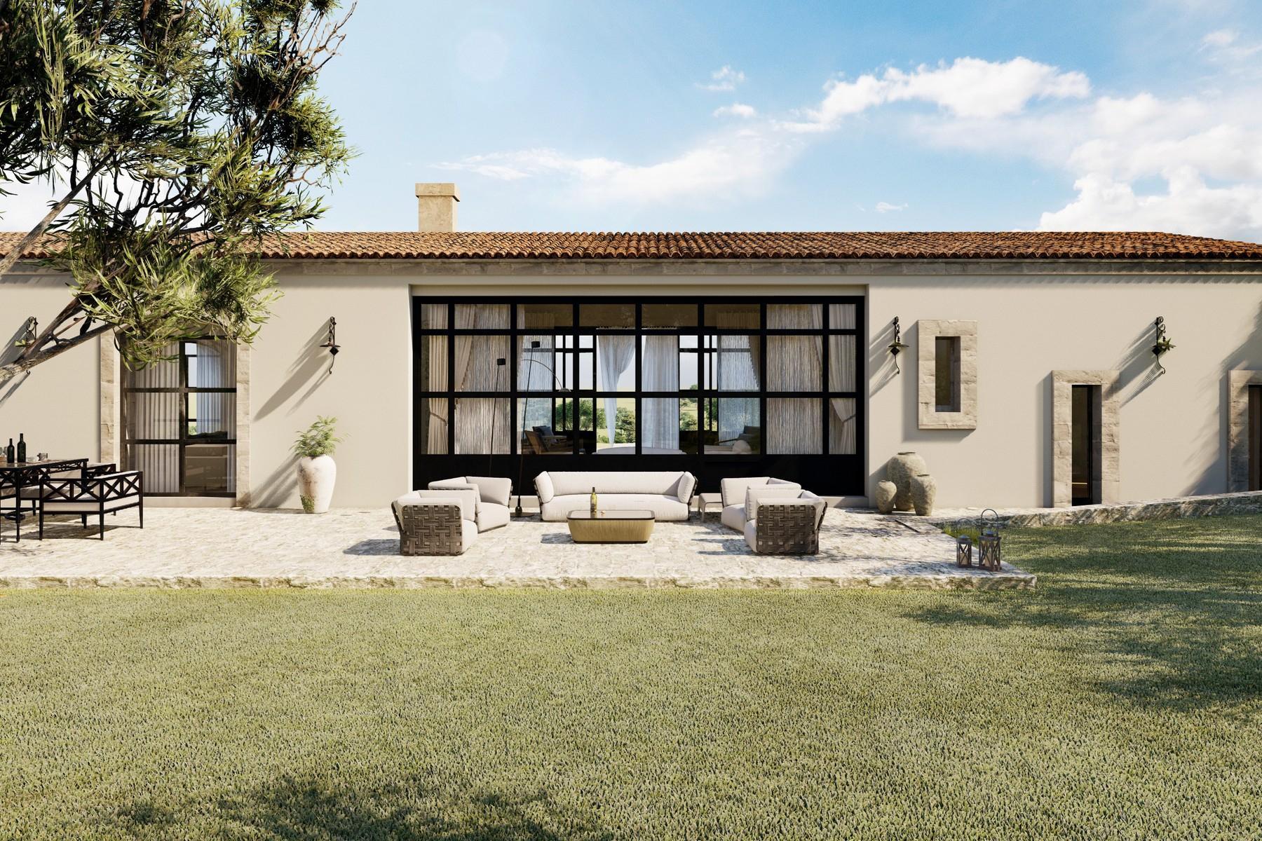 Val di Noto 的带游泳池及豪华设计的农舍 - 4
