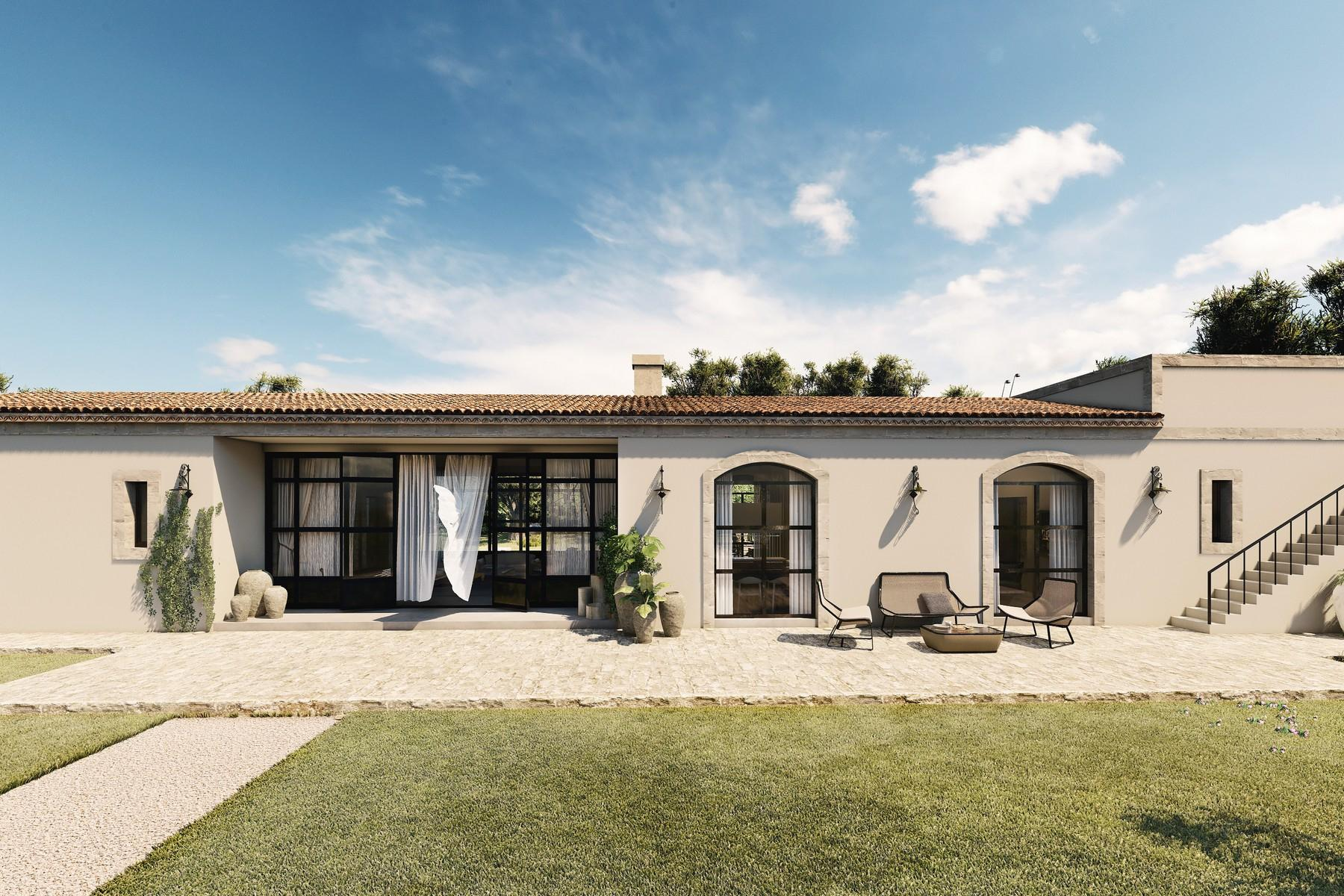 Lussuosissimo casale di design con piscina in Val di Noto - 10
