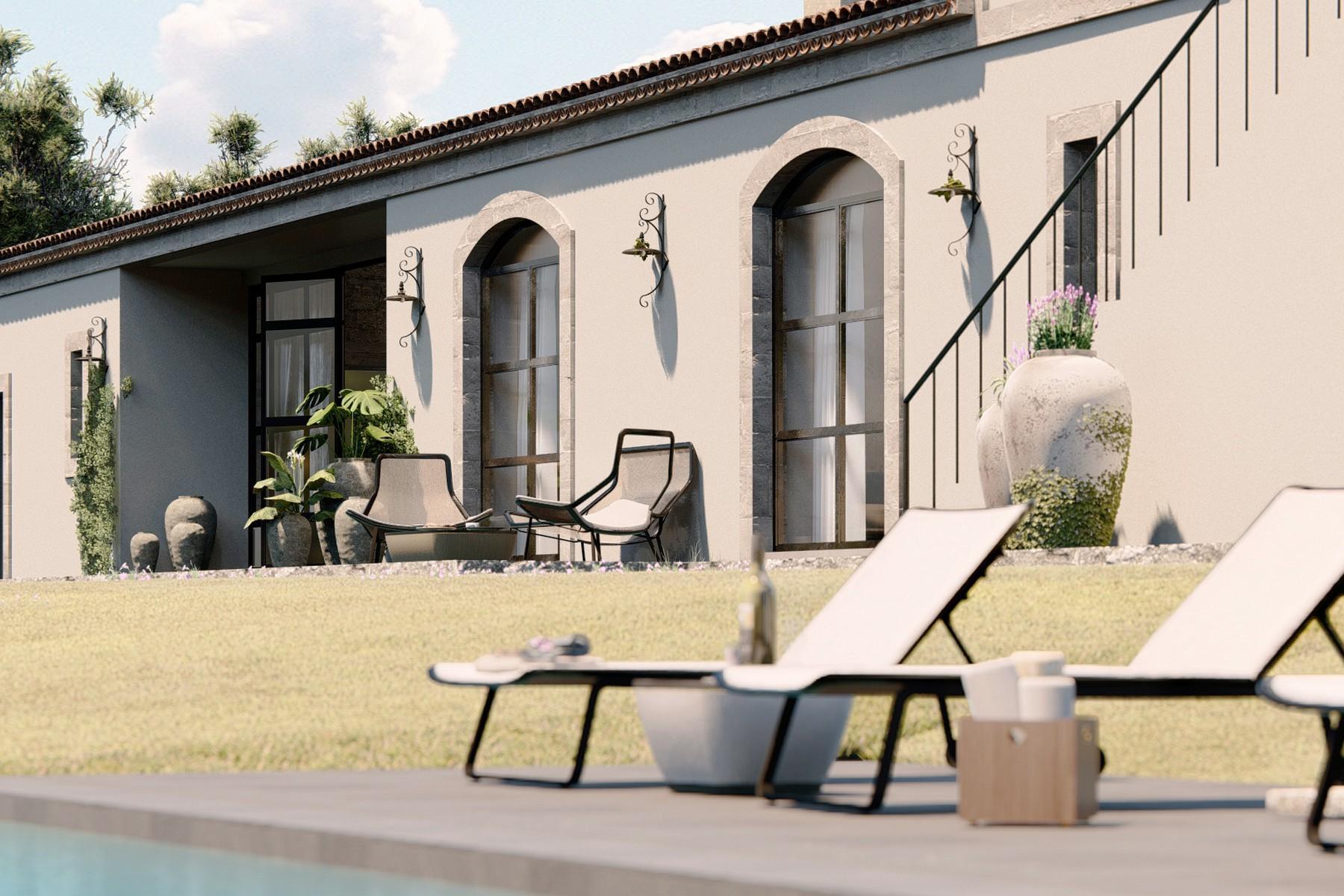 Lussuosissimo casale di design con piscina in Val di Noto - 12