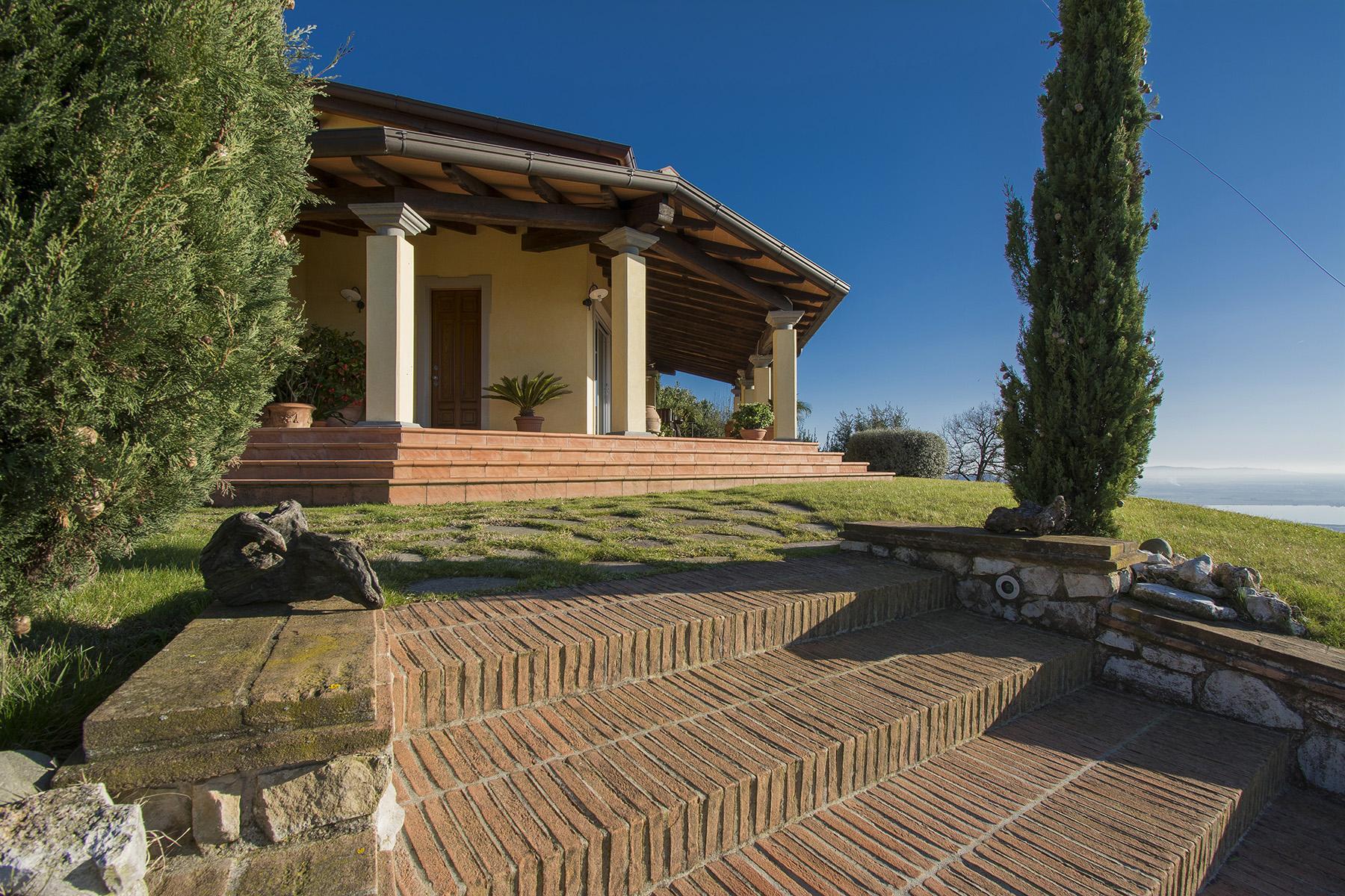 Magnifica villa vista mare e lago sulle prime colline di Massarosa - 12