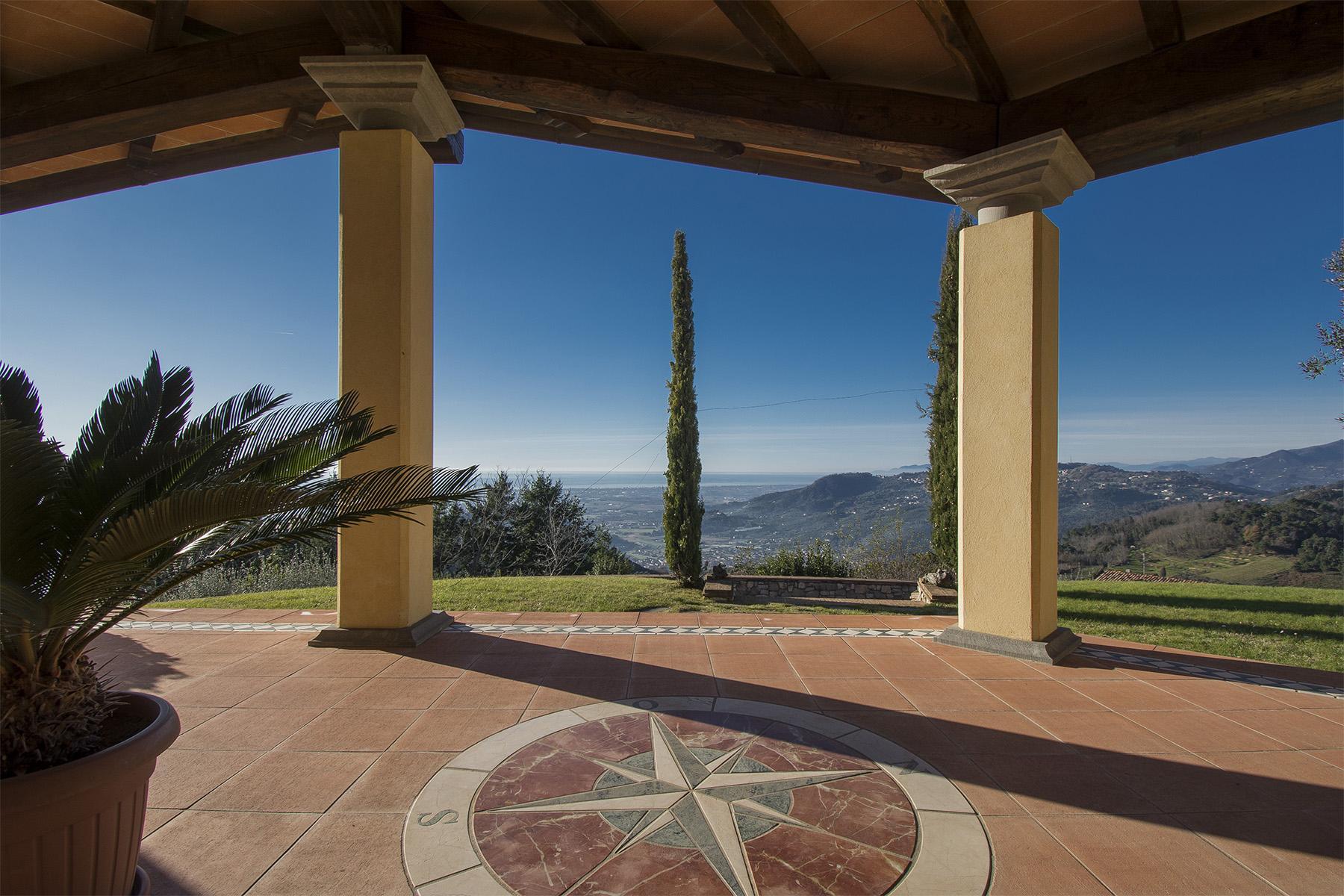 Magnifica villa vista mare e lago sulle prime colline di Massarosa - 16