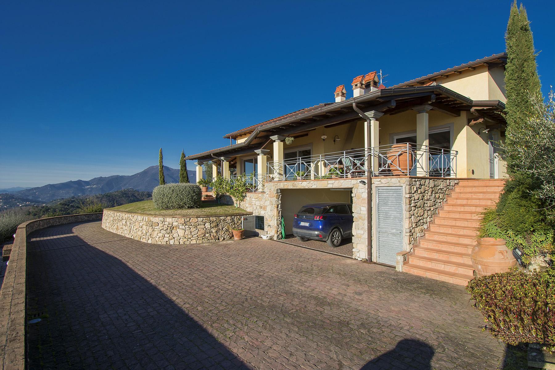 Magnifica villa vista mare e lago sulle prime colline di Massarosa - 14