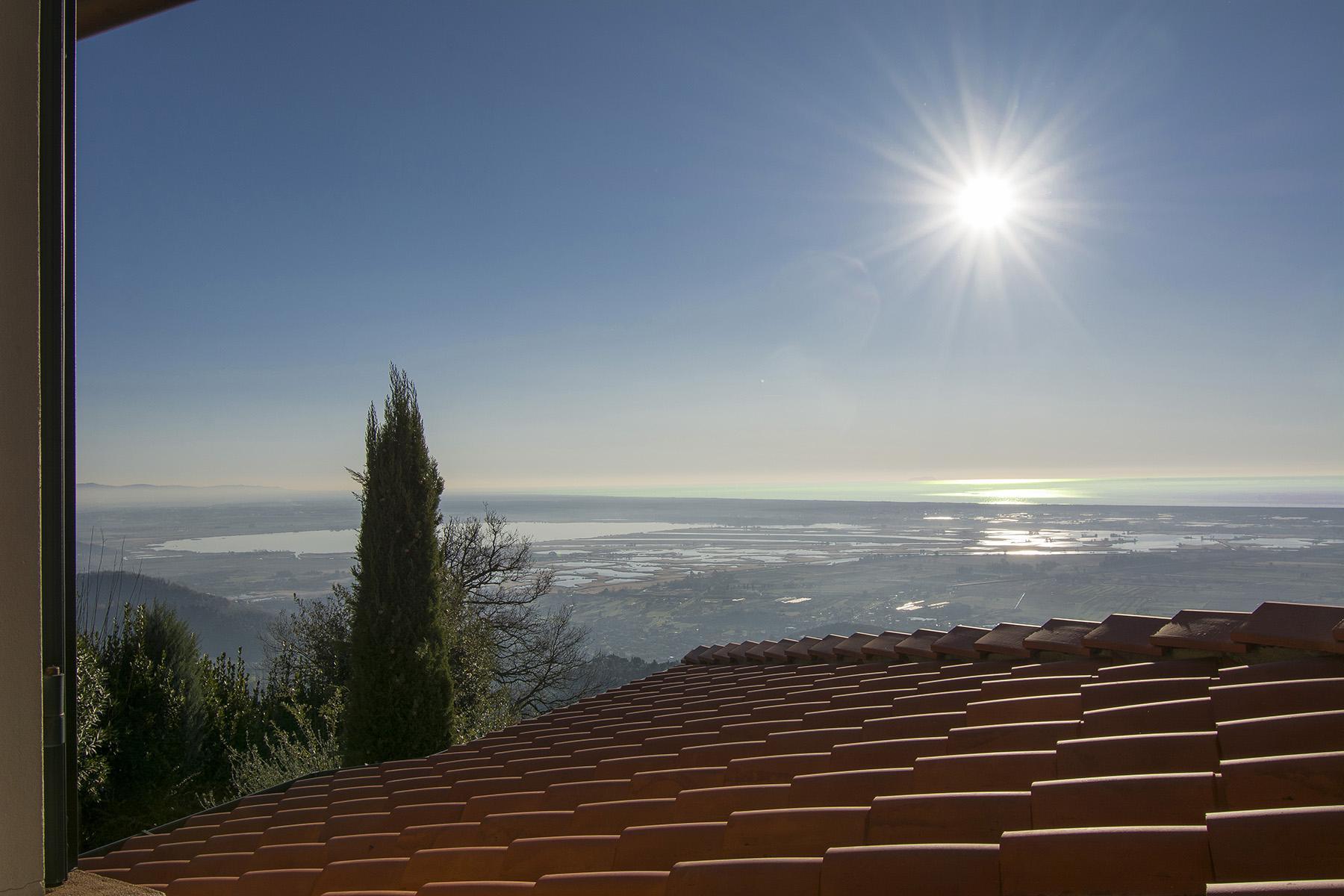 Magnifica villa vista mare e lago sulle prime colline di Massarosa - 26
