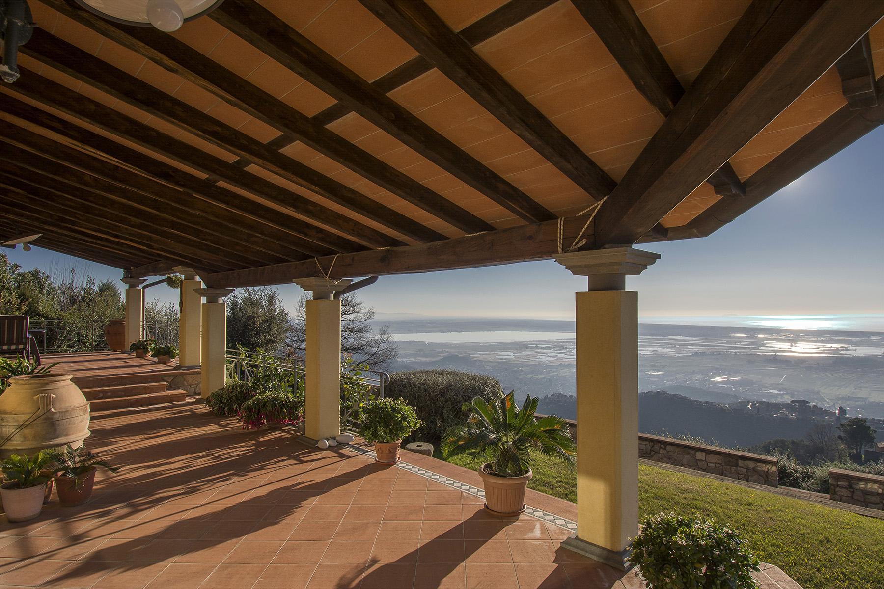Wunderschöne Villa mit Meerblick auf den ersten Hügeln von Massarosa - 2