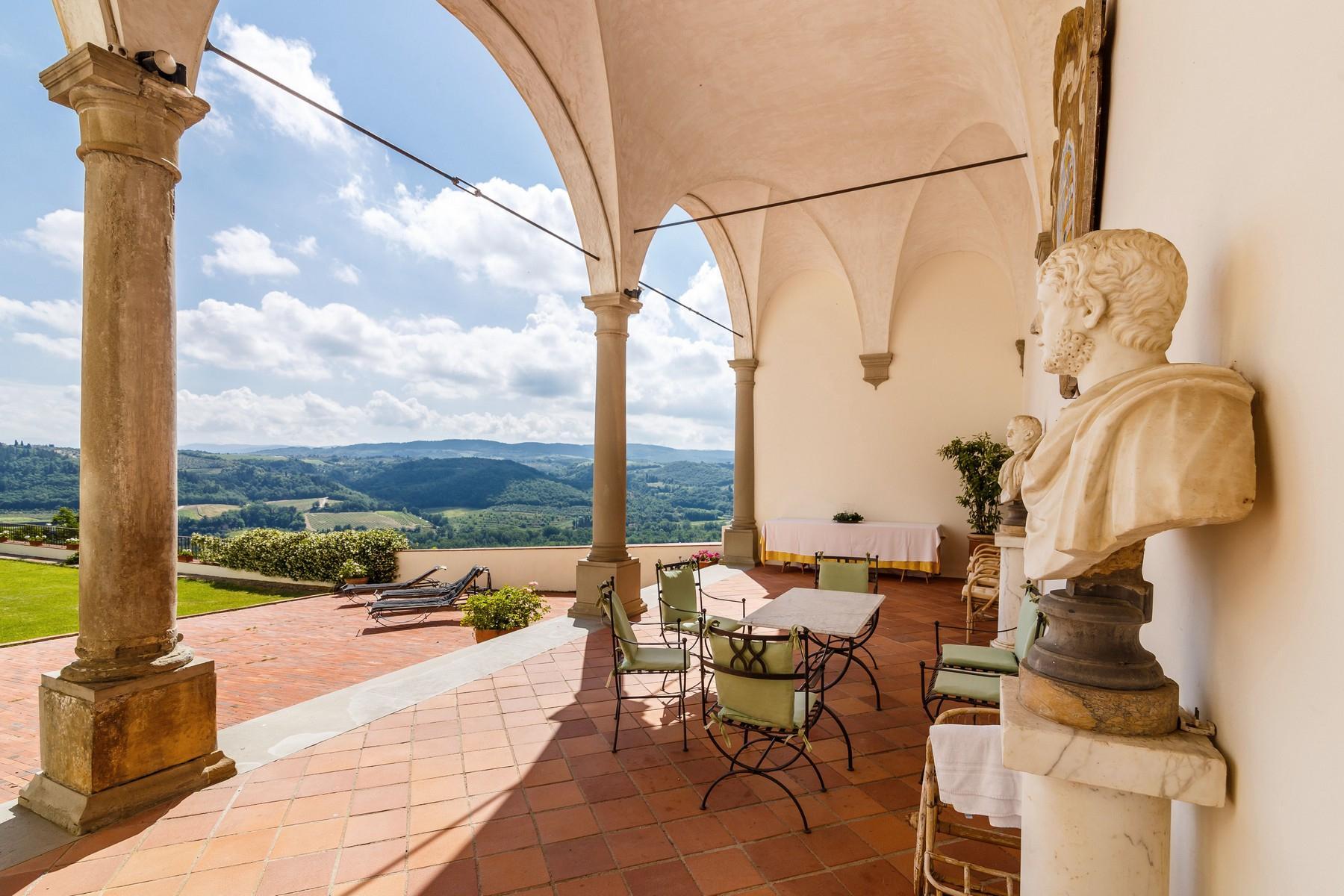 Schloss aus der Renaissance im Chianti Gebiet - 1