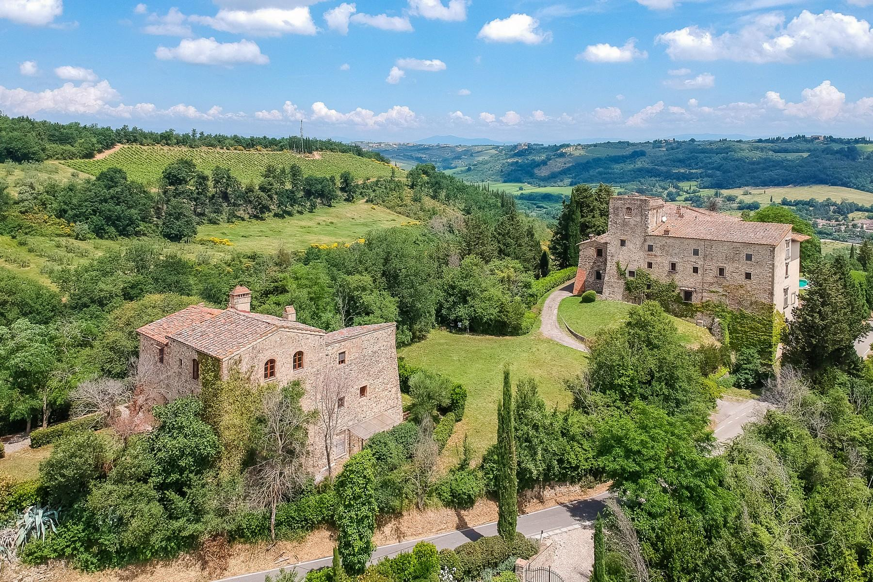 Renaissance castle in the Florentine Chianti hills - 2