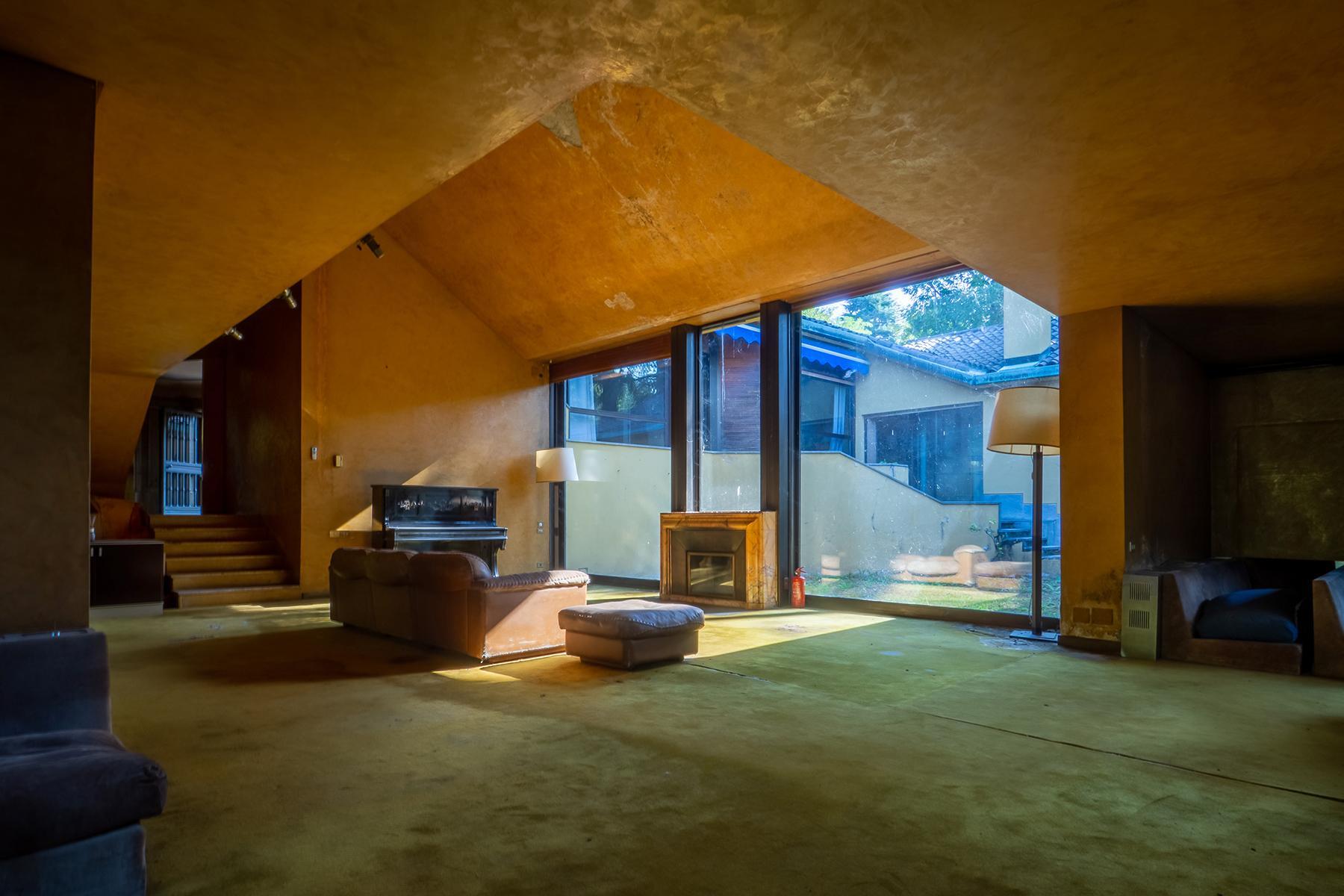 Villa con parco privato e piscina sulla prestigiosa collina di Torino - 5