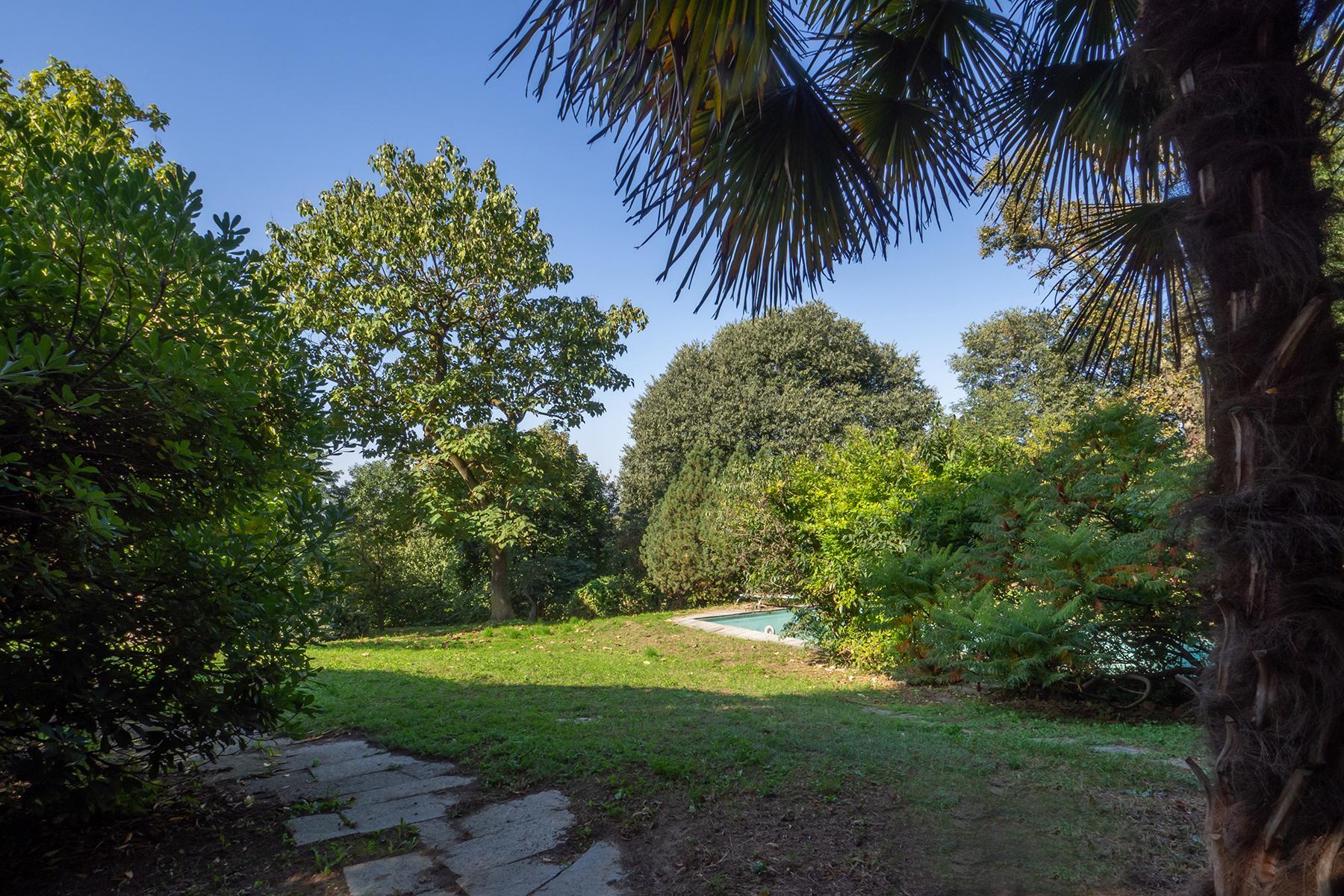Villa mit privatem Park und Pool auf dem Hügel Turins - 19