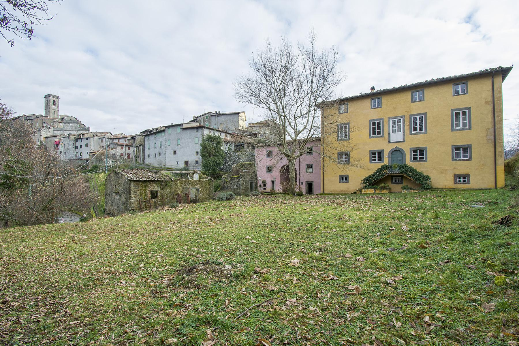 Романтическая историческая вилла на окраине средневекового тосканского борго - 24