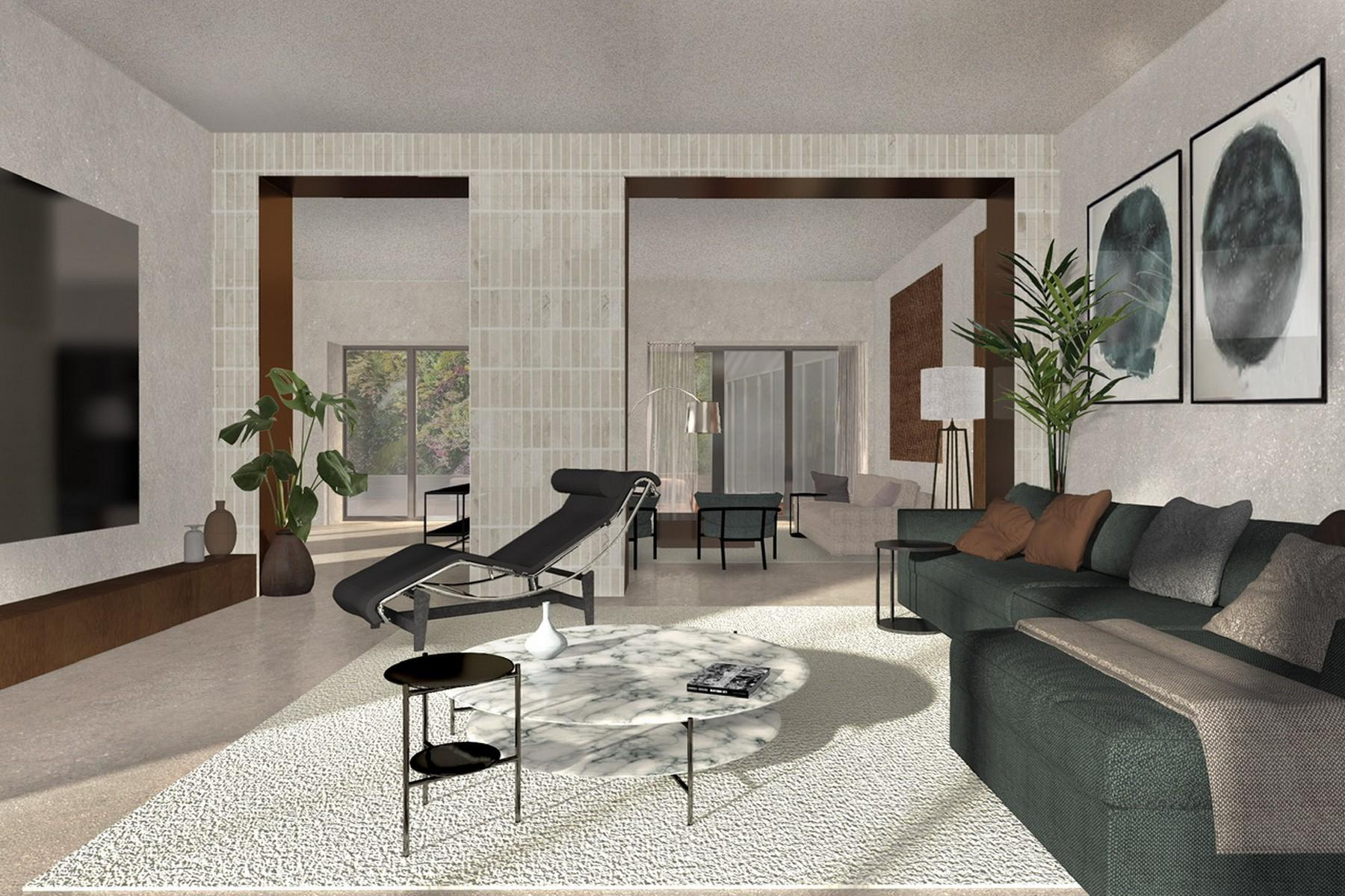 Elegant semi indipendent property of large size with private garden - 4