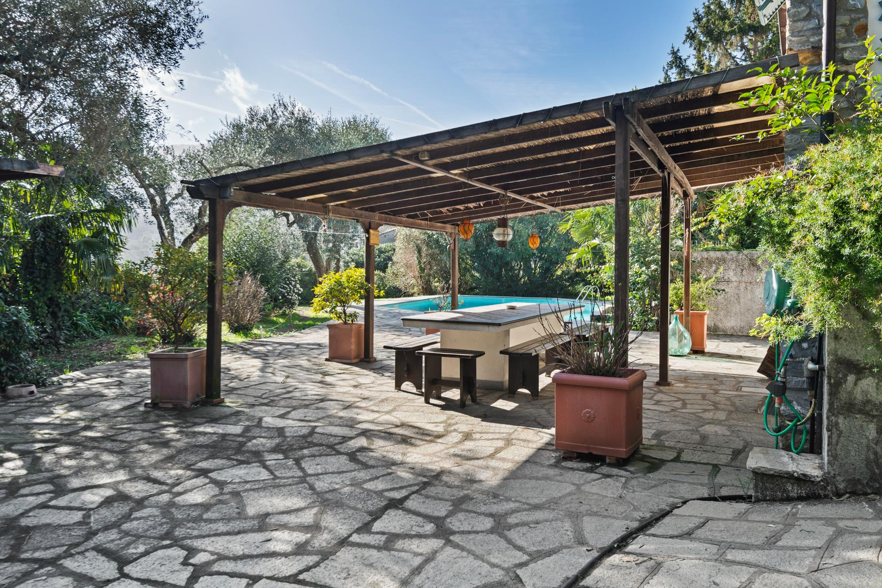 Villa with swimming pool on the hill of Rapallo - 3