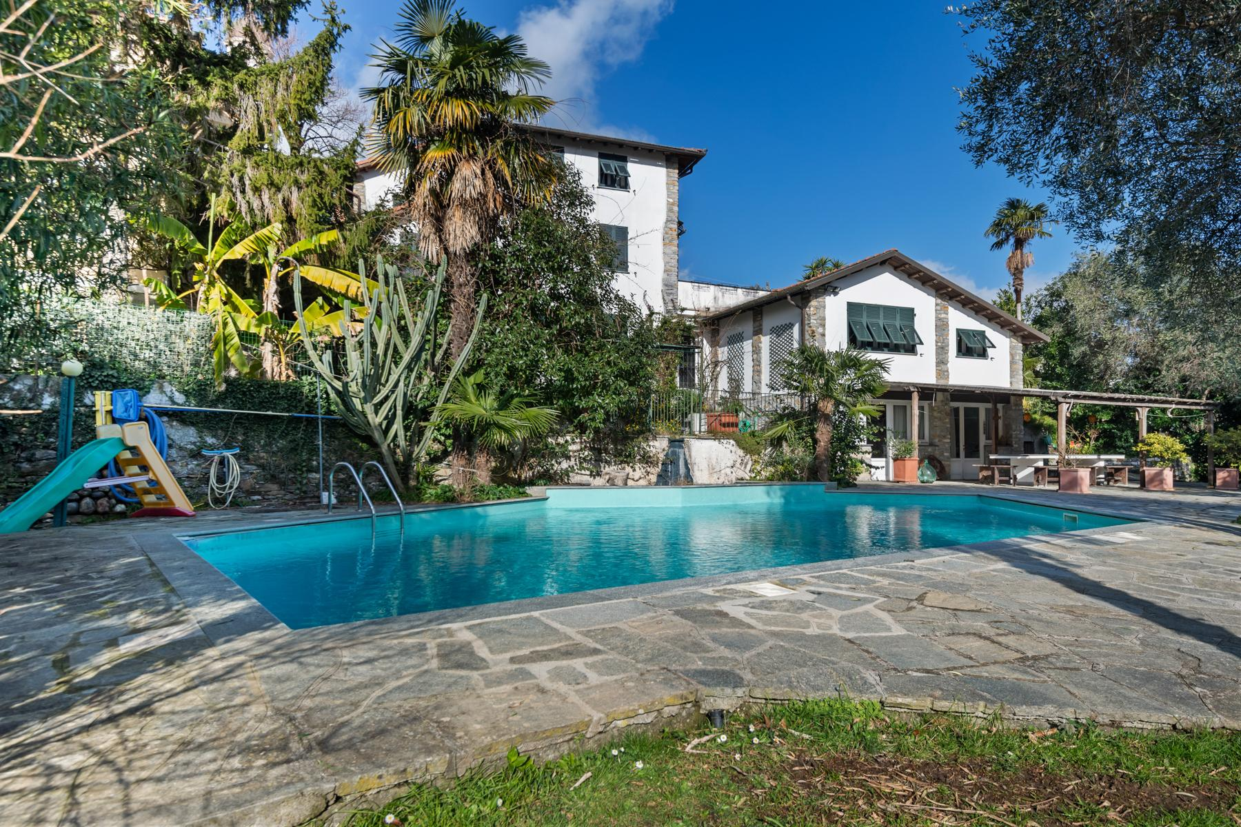 Villa with swimming pool on the hill of Rapallo - 13