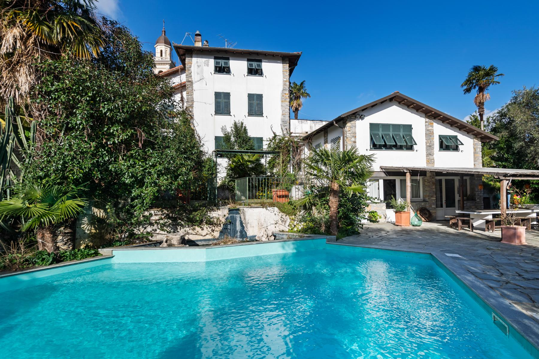 Villa with swimming pool on the hill of Rapallo - 1