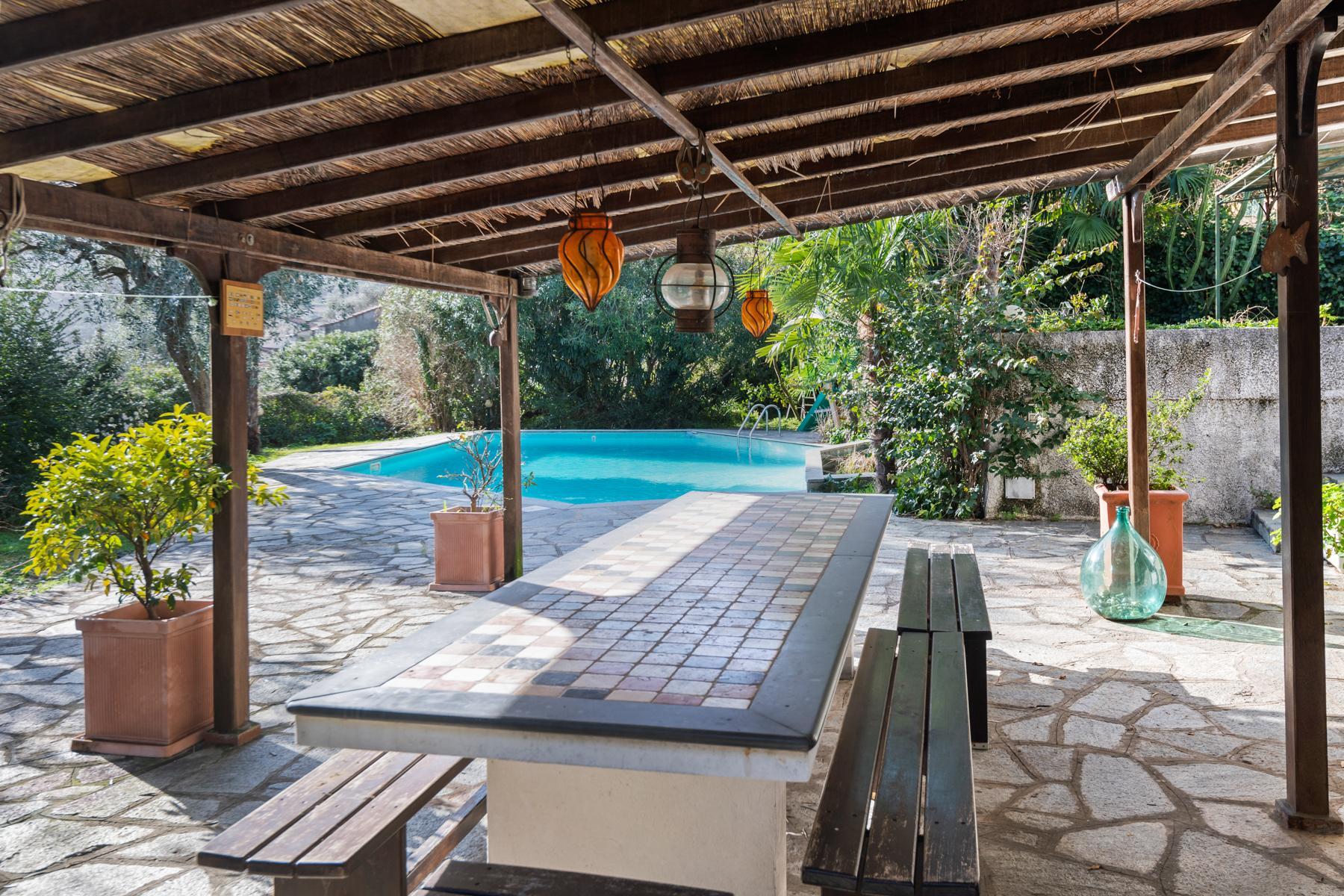 Villa con piscina sulla collina di Rapallo - 2