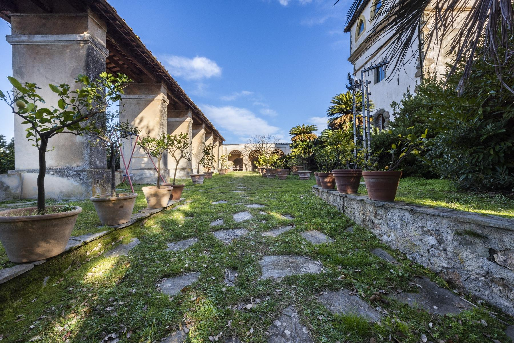 Stunning historic Villa with tower in Camaiore - 21