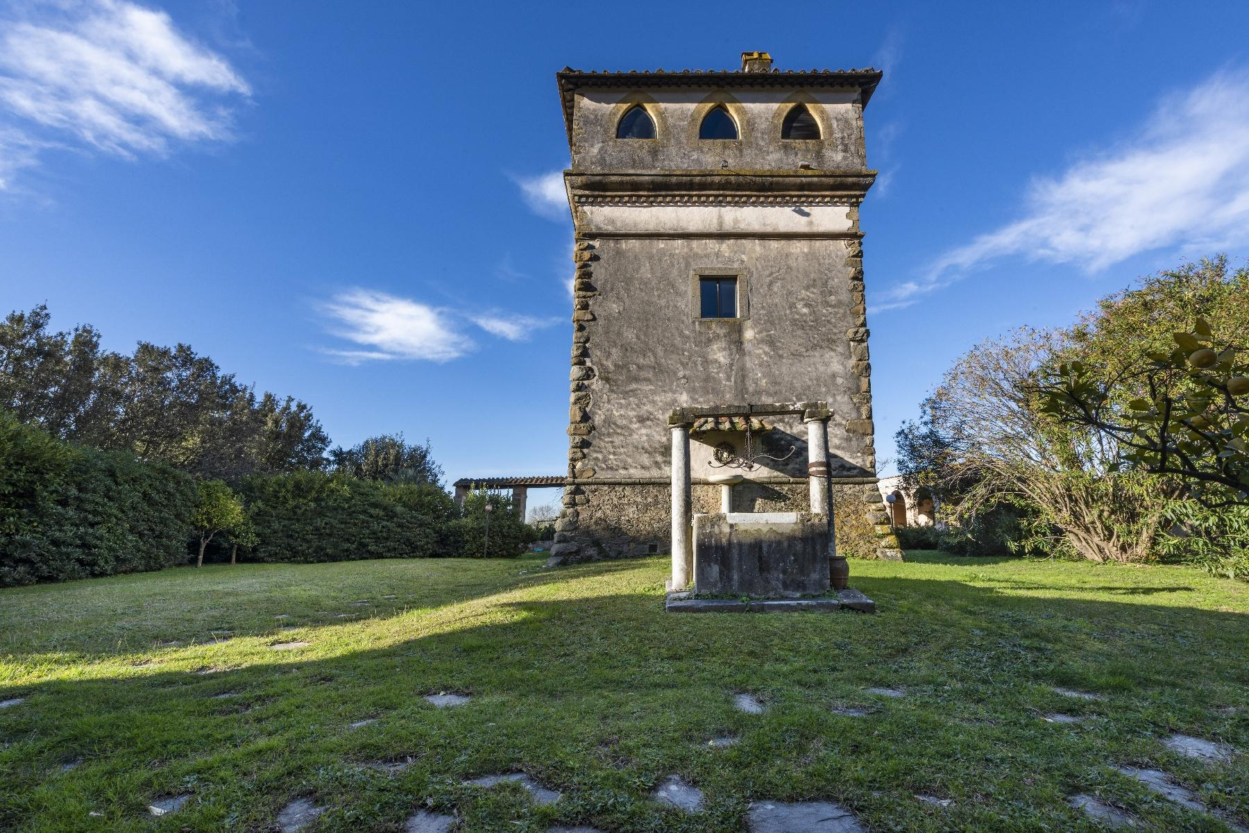 Stunning historic Villa with tower in Camaiore - 2