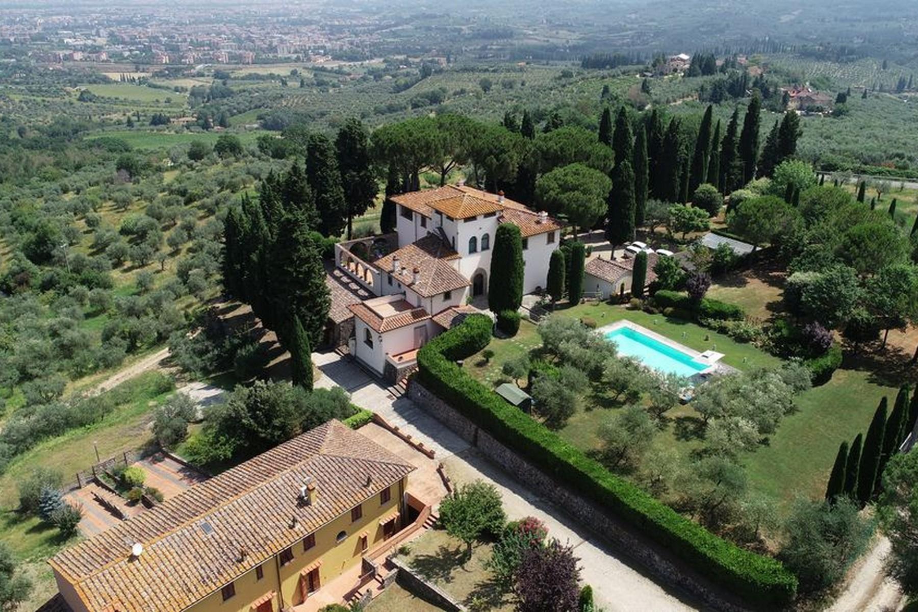Villa Renaissance avec hameau privé sur les collines de Florence - 1