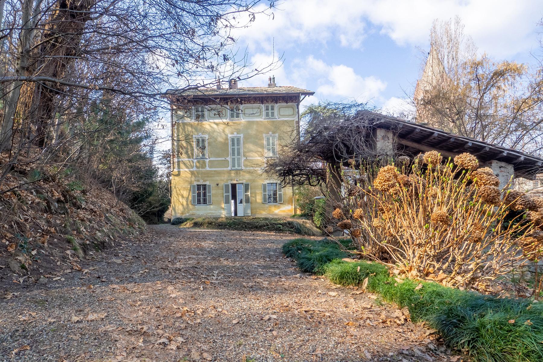 Историческая вилла с частным садом - 7