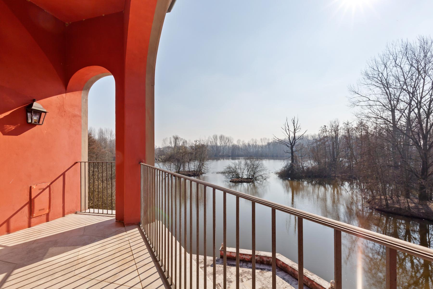 Suggestiva proprietà con parco e lago privato a pochi minuti da Milano - 12