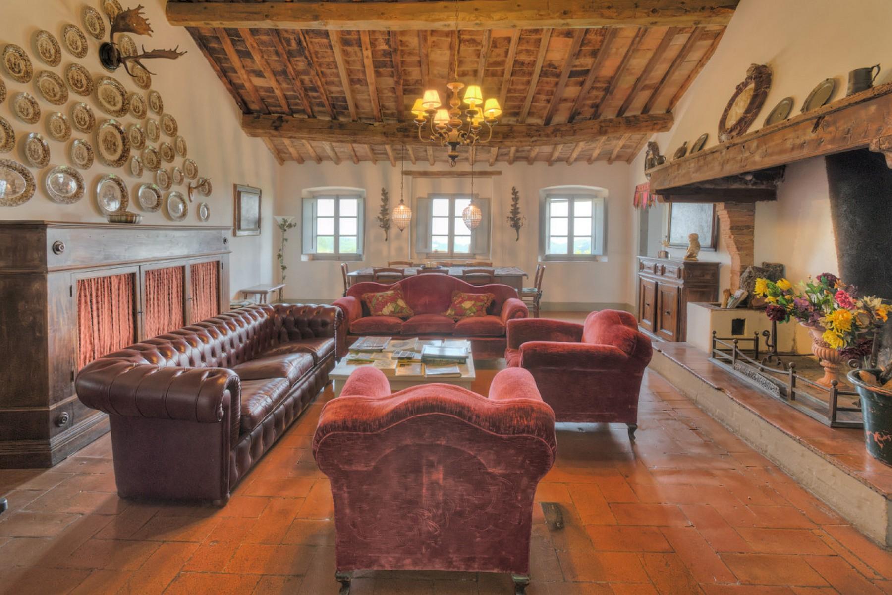 Современная вилла в загородном стиле во Флоренции, регион Кьянти - 11