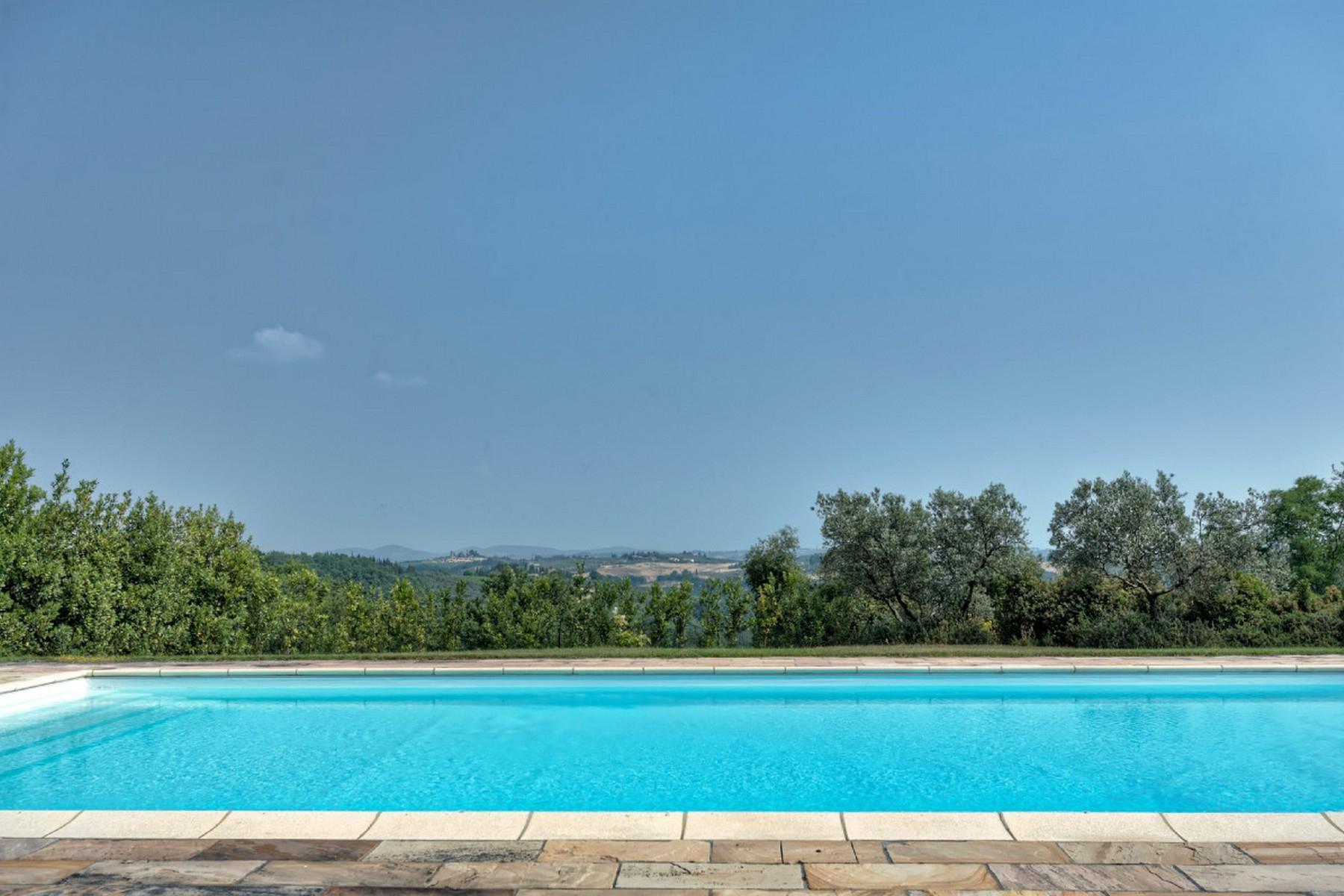 Современная вилла в загородном стиле во Флоренции, регион Кьянти - 22