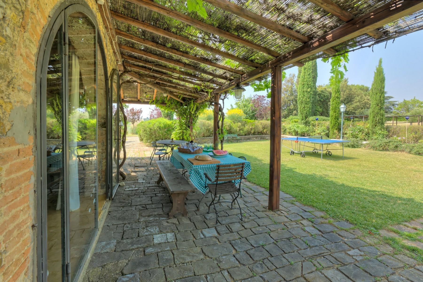 Современная вилла в загородном стиле во Флоренции, регион Кьянти - 30