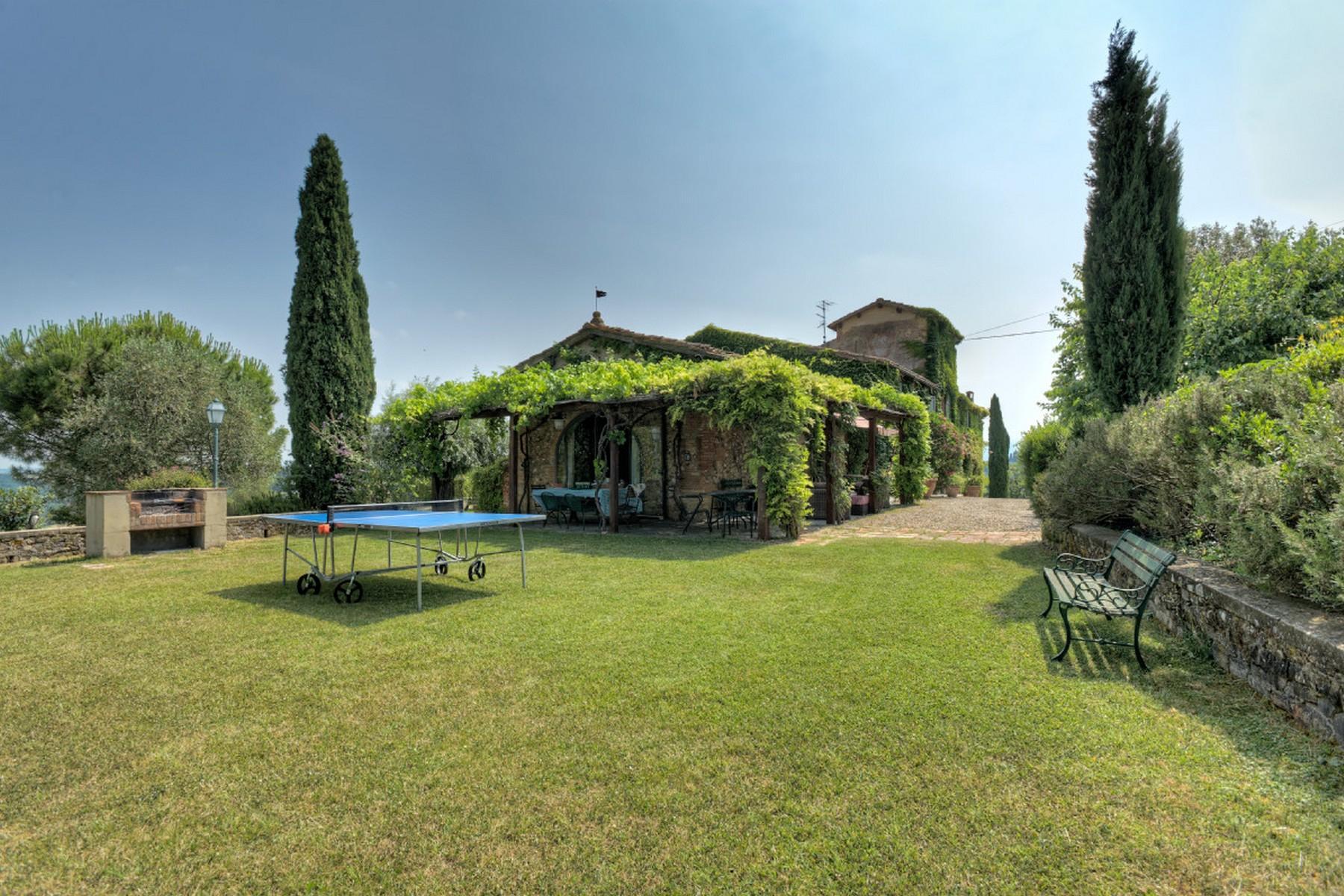 Современная вилла в загородном стиле во Флоренции, регион Кьянти - 25